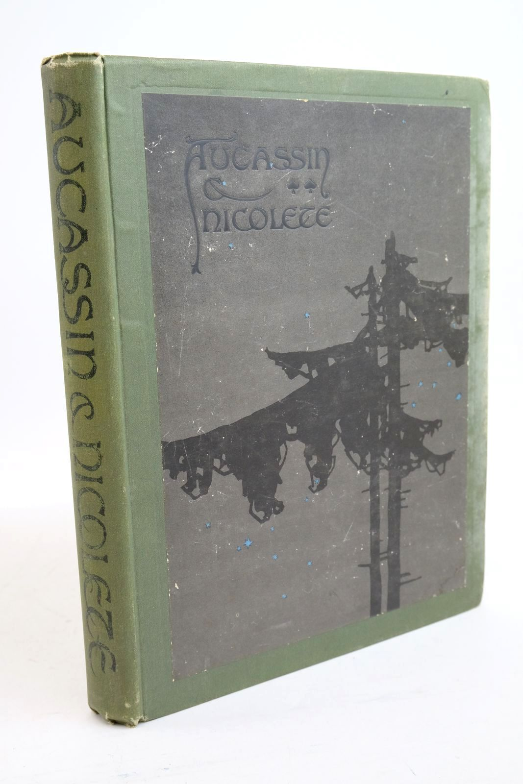 Photo of AUCASSIN AND NICOLETE written by West, Michael illustrated by Paul, Evelyn Bocher, Main R. published by George G. Harrap & Co. (STOCK CODE: 1321251)  for sale by Stella & Rose's Books