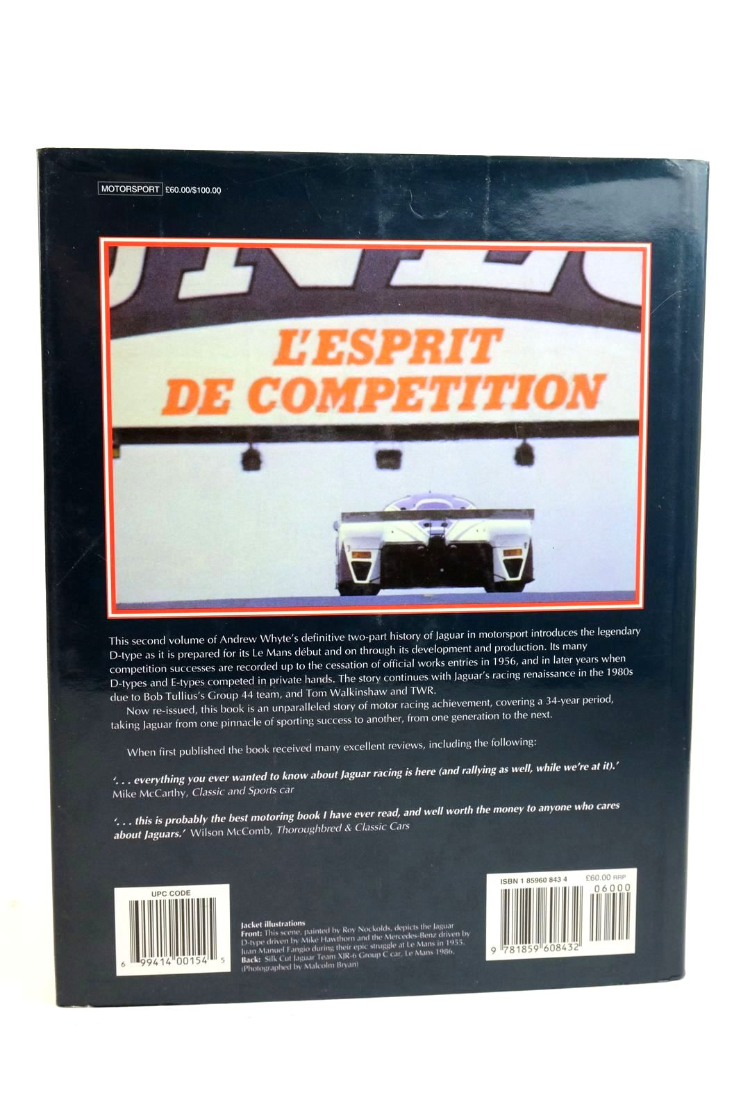 Photo of JAGUAR SPORTS RACING & WORKS COMPETITION CARS FROM 1954 written by Whyte, Andrew published by Haynes Publishing (STOCK CODE: 1321254)  for sale by Stella & Rose's Books