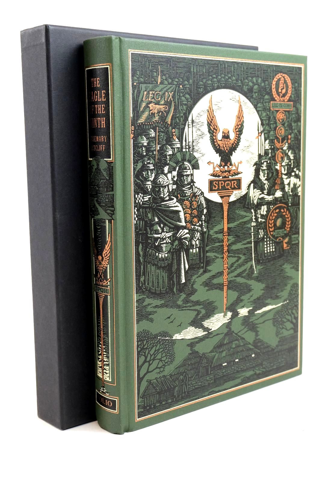 Photo of THE EAGLE OF THE NINTH written by Sutcliff, Rosemary Crossley-Holland, Kevin illustrated by Pisarev, Roman published by Folio Society (STOCK CODE: 1321256)  for sale by Stella & Rose's Books