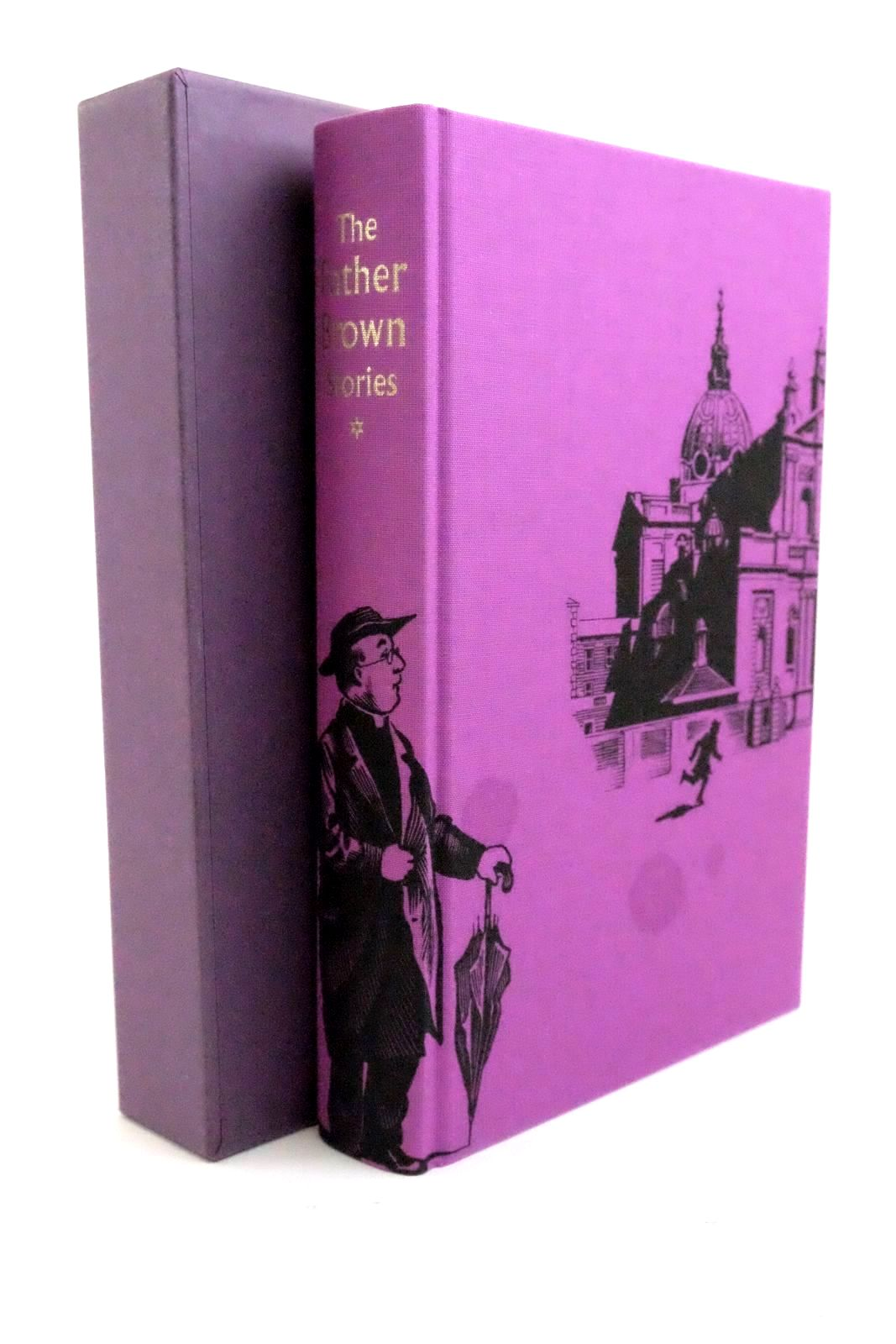 Photo of THE FATHER BROWN STORIES (VOLUME 1) written by Chesterton, G.K. Dexter, Colin illustrated by Biro, Val published by Folio Society (STOCK CODE: 1321280)  for sale by Stella & Rose's Books