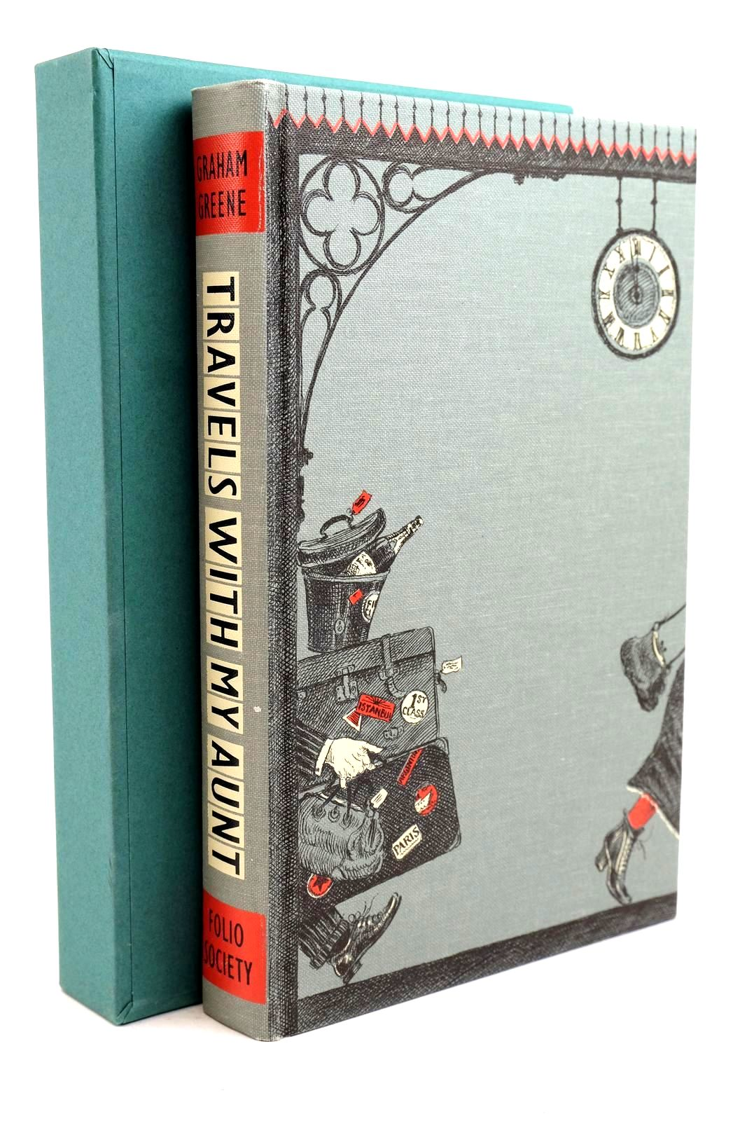 Photo of TRAVELS WITH MY AUNT: A NOVEL written by Greene, Graham Mortimer, John illustrated by Holder, John published by Folio Society (STOCK CODE: 1321312)  for sale by Stella & Rose's Books