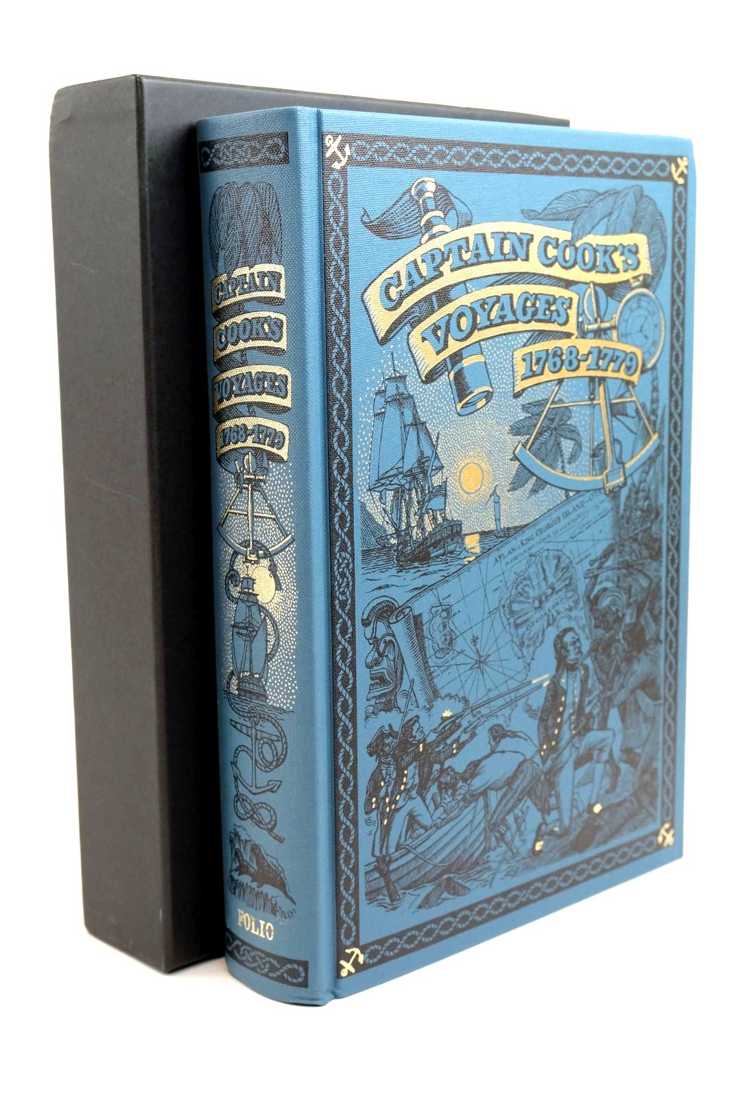 Photo of CAPTAIN COOK'S VOYAGES 1768-1779 written by Cook, Captain Williams, Glyndwr published by Folio Society (STOCK CODE: 1321327)  for sale by Stella & Rose's Books