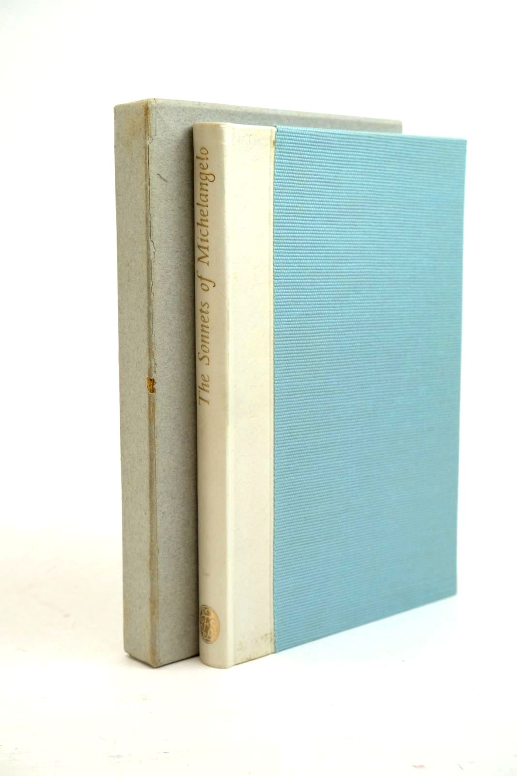 Photo of THE SONNETS OF MICHELANGELO written by Michelangelo,  Jennings, Elizabeth Ayrton, Michael illustrated by Michelangelo,  published by Folio Society (STOCK CODE: 1321336)  for sale by Stella & Rose's Books