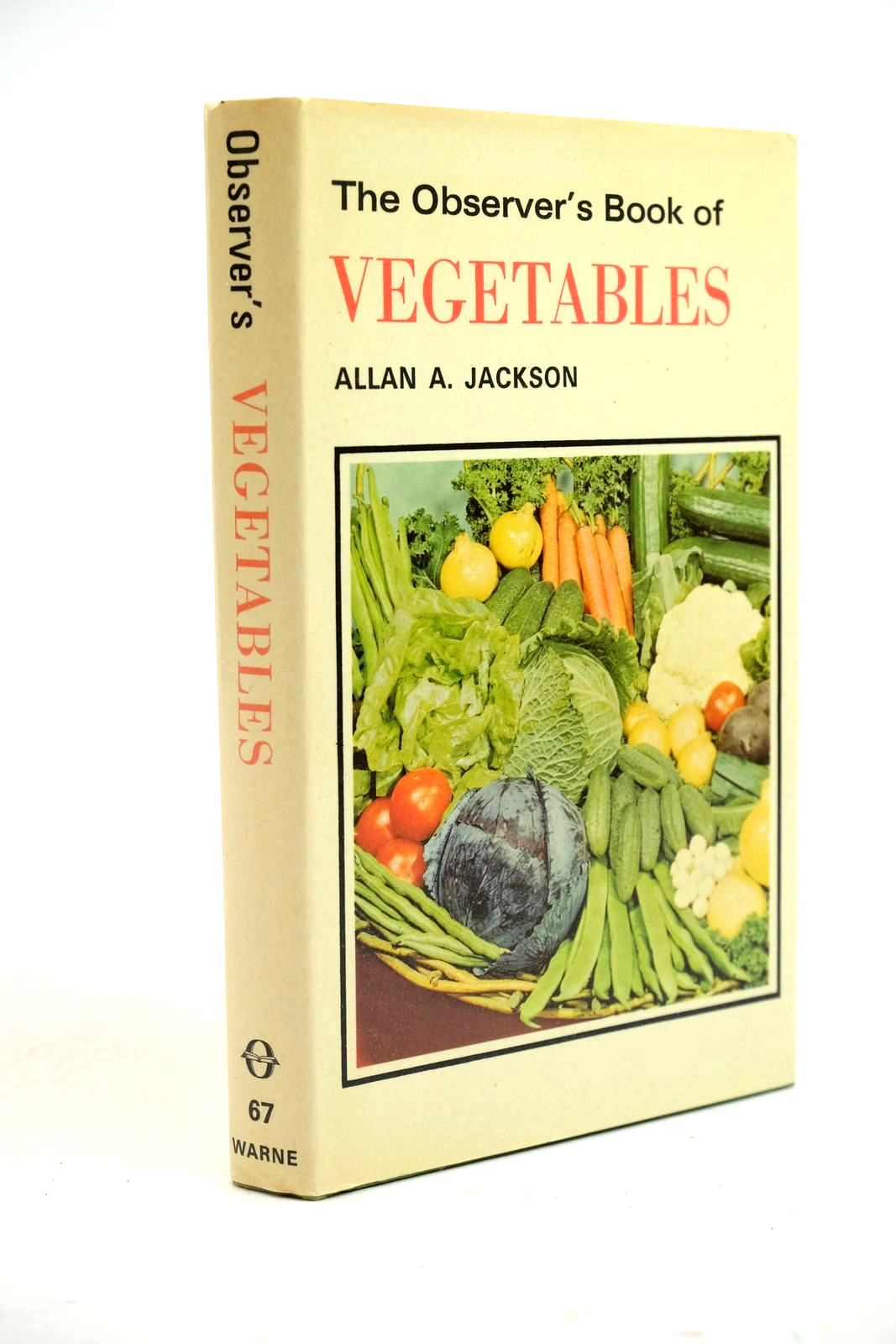 Photo of THE OBSERVER'S BOOK OF VEGETABLES written by Jackson, Allan A. published by Frederick Warne (STOCK CODE: 1321343)  for sale by Stella & Rose's Books
