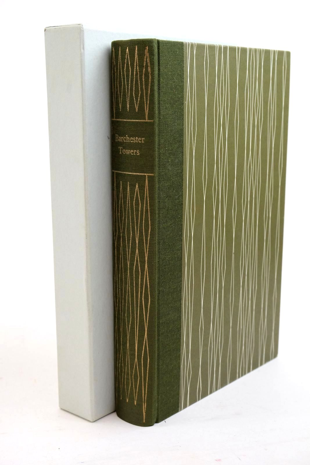 Photo of BARCHESTER TOWERS written by Trollope, Anthony Symons, Julian illustrated by Reddick, Peter published by Folio Society (STOCK CODE: 1321350)  for sale by Stella & Rose's Books