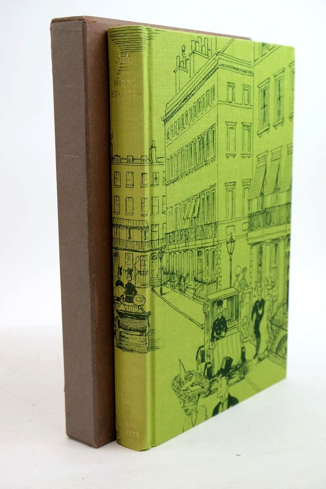 Photo of SHORT STORIES written by Saki,  Letts, John illustrated by Lancaster, Osbert published by Folio Society (STOCK CODE: 1321352)  for sale by Stella & Rose's Books