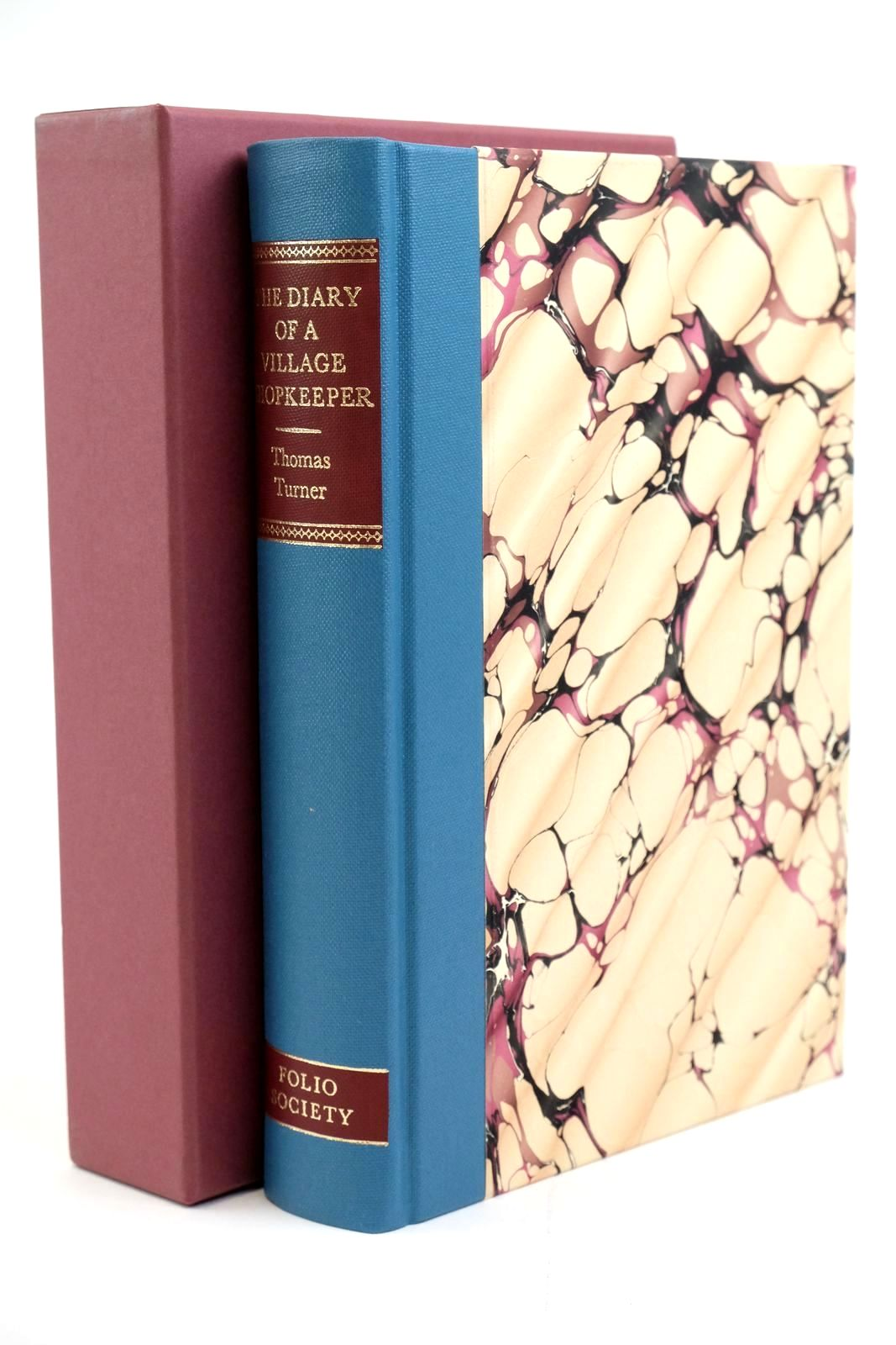 Photo of THE DIARY OF A VILLAGE SHOPKEEPER 1754-1765 written by Turner, Thomas Vaisey, David illustrated by Macgregor, Miriam published by Folio Society (STOCK CODE: 1321380)  for sale by Stella & Rose's Books