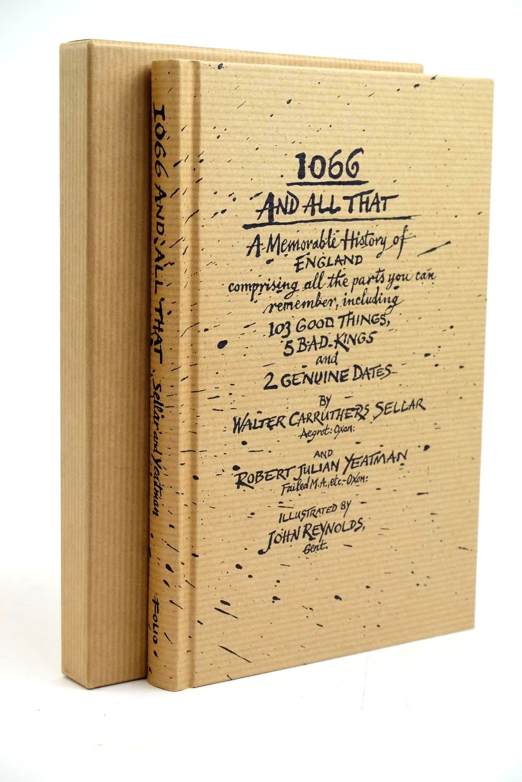 Photo of 1066 AND ALL THAT: A MEMORABLE HISTORY OF ENGLAND- Stock Number: 1321403