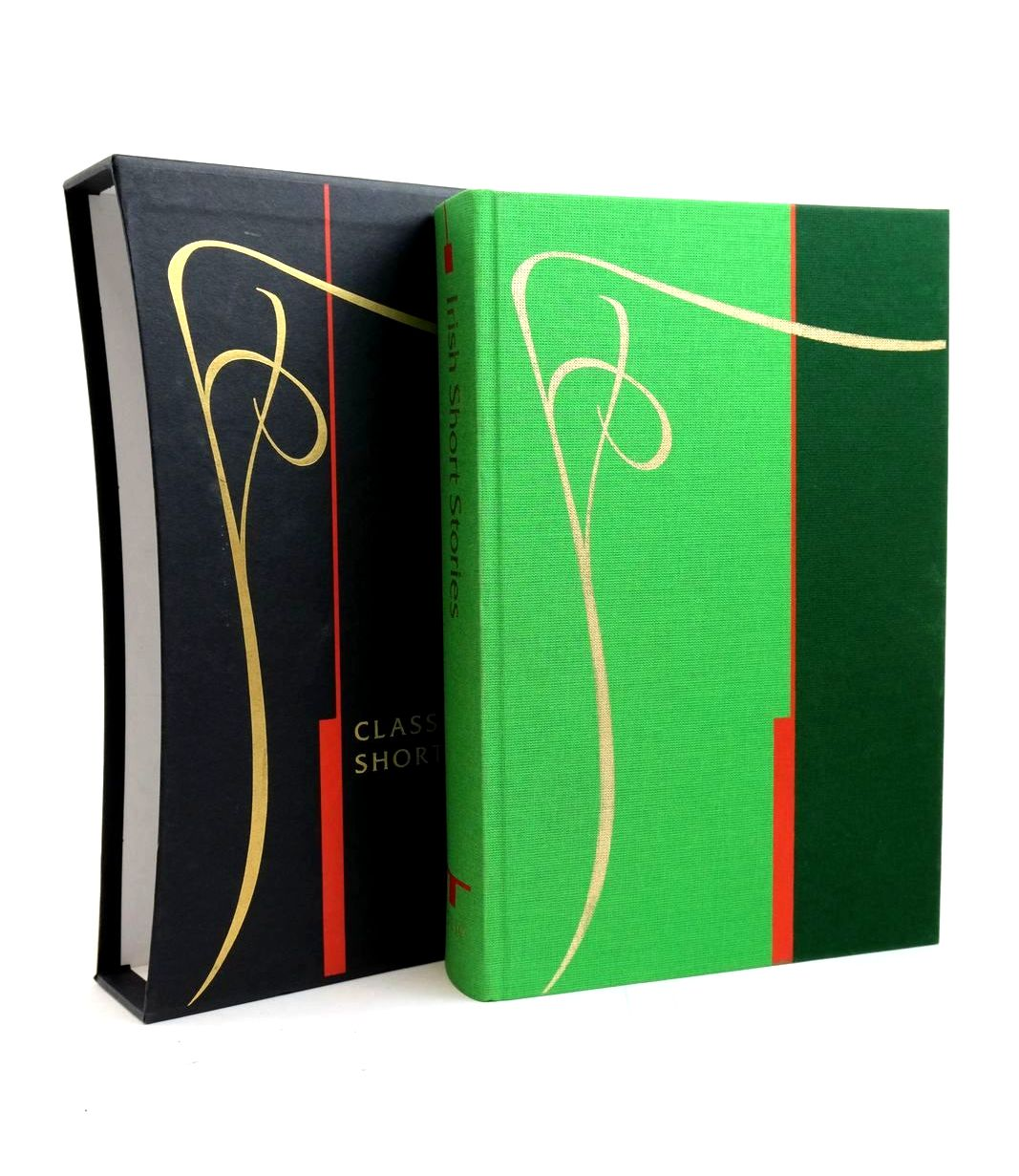 Photo of IRISH SHORT STORIES written by Delaney, Frank et al,  illustrated by Rooney, David published by Folio Society (STOCK CODE: 1321404)  for sale by Stella & Rose's Books