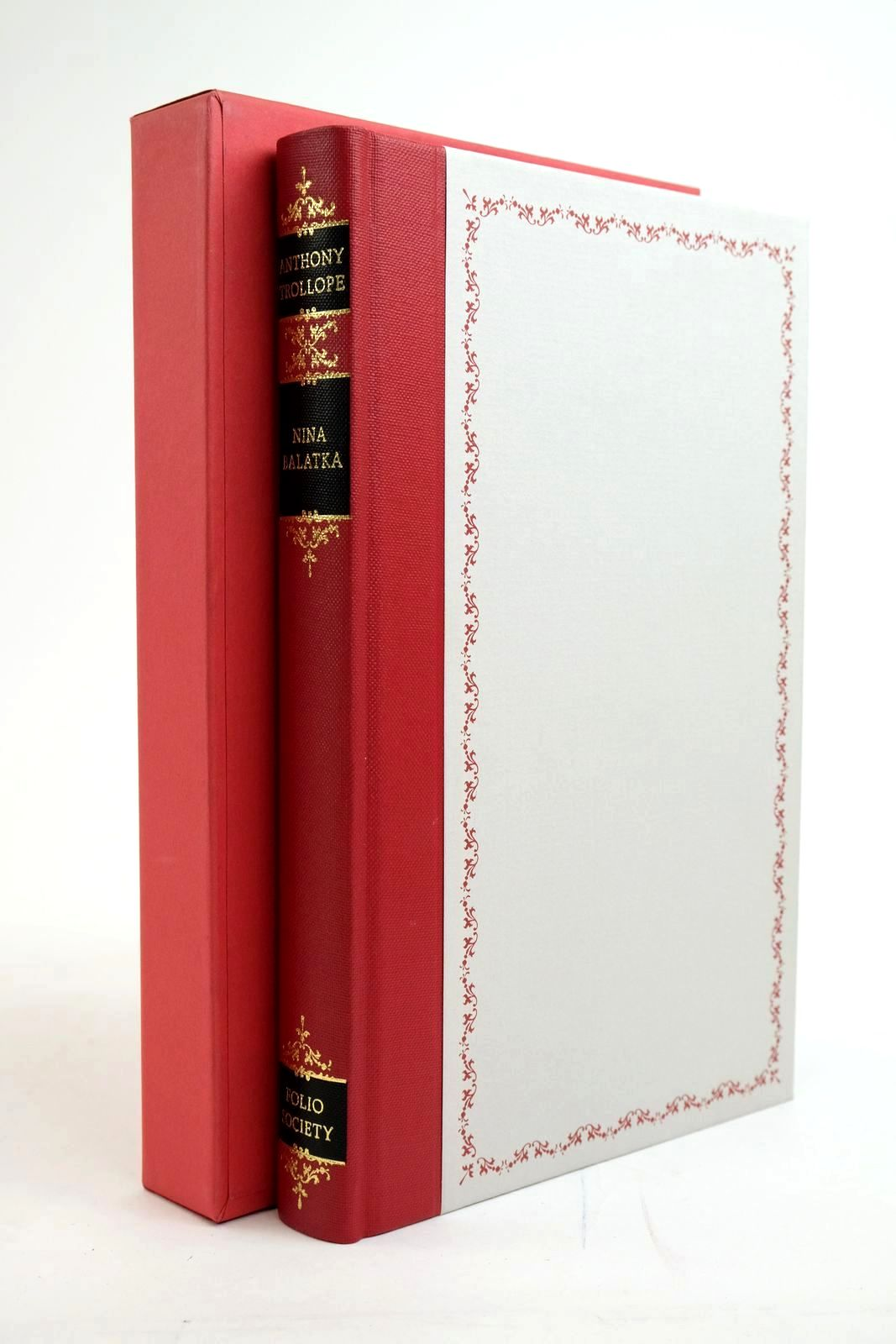 Photo of NINA BALATKA written by Trollope, Anthony Thirlwell, Angela illustrated by Waters, Rod published by Folio Society (STOCK CODE: 1321406)  for sale by Stella & Rose's Books