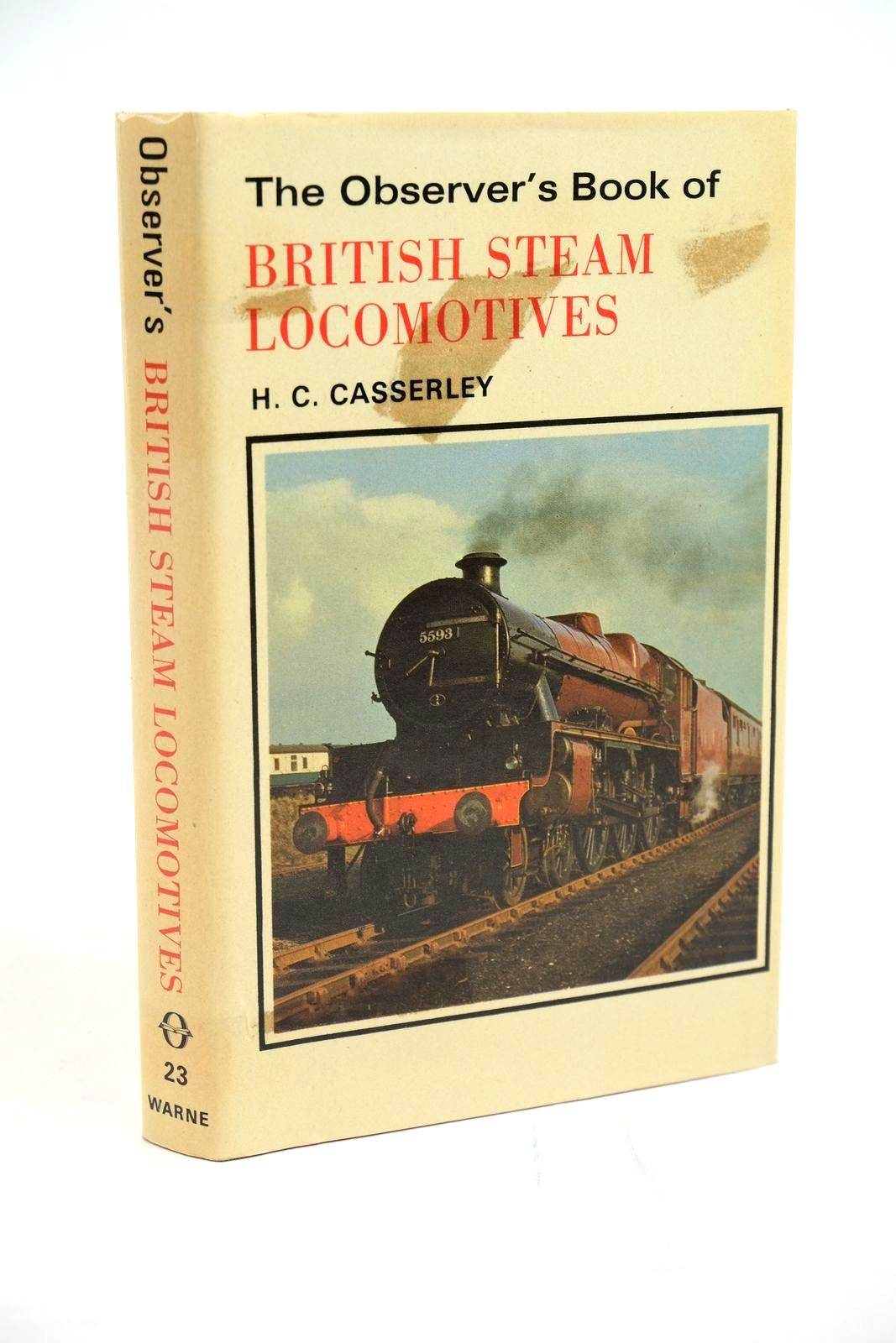 Photo of THE OBSERVER'S BOOK OF BRITISH STEAM LOCOMOTIVES- Stock Number: 1321419