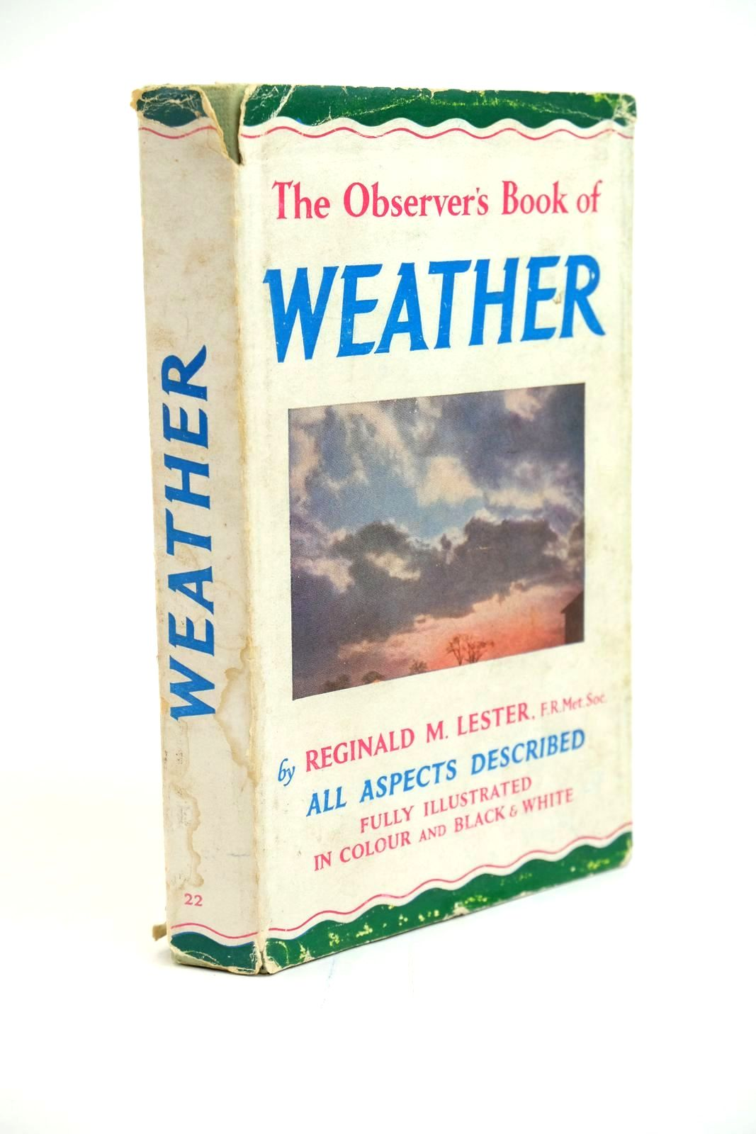 Photo of THE OBSERVER'S BOOK OF WEATHER- Stock Number: 1321424
