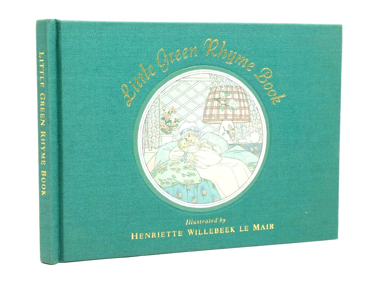 Photo of LITTLE GREEN RHYME BOOK- Stock Number: 1321435