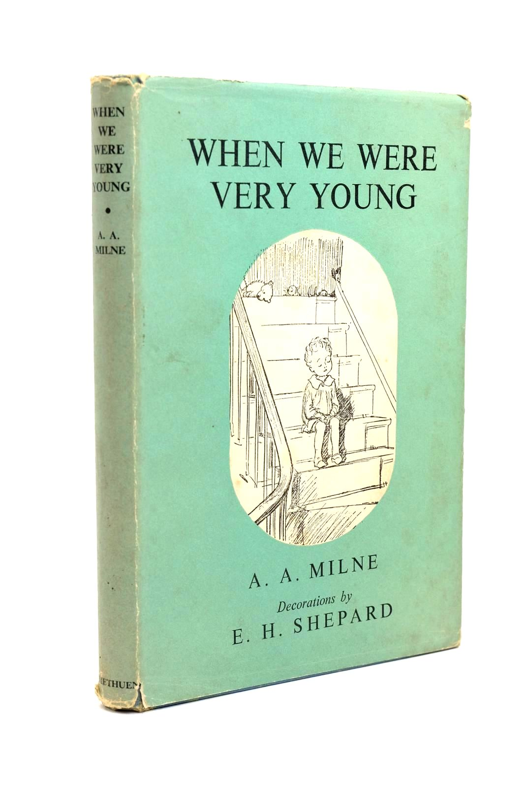 Photo of WHEN WE WERE VERY YOUNG written by Milne, A.A. illustrated by Shepard, E.H. published by Methuen & Co. Ltd. (STOCK CODE: 1321436)  for sale by Stella & Rose's Books