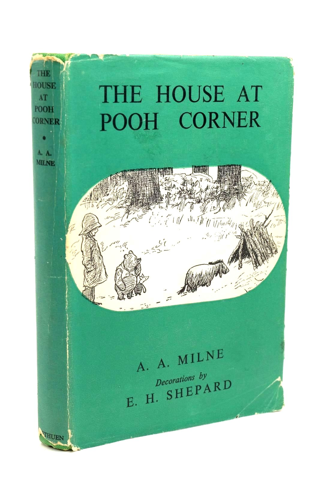 Photo of THE HOUSE AT POOH CORNER written by Milne, A.A. illustrated by Shepard, E.H. published by Methuen & Co. Ltd. (STOCK CODE: 1321439)  for sale by Stella & Rose's Books