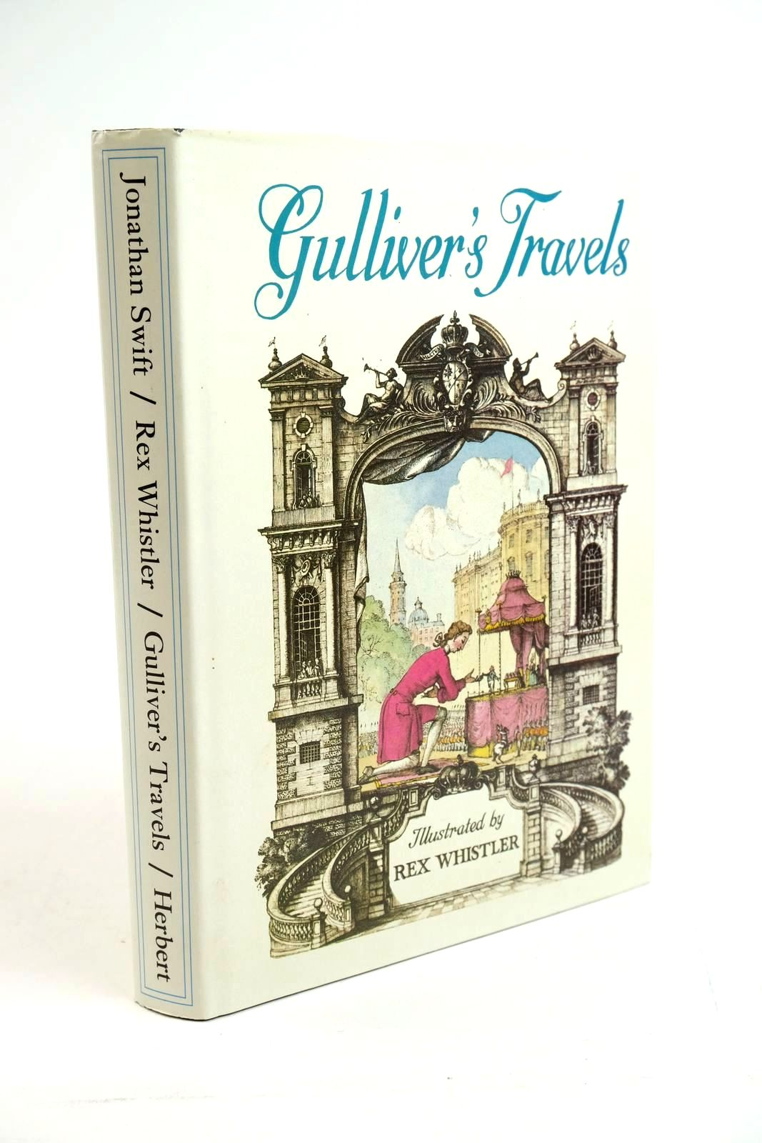 Photo of GULLIVER'S TRAVELS written by Swift, Jonathan illustrated by Whistler, Rex published by The Herbert Press (STOCK CODE: 1321496)  for sale by Stella & Rose's Books