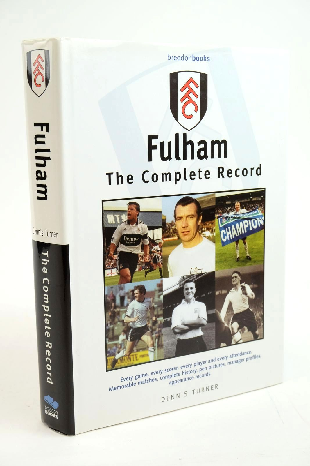 Photo of FULHAM THE COMPLETE RECORD- Stock Number: 1321500