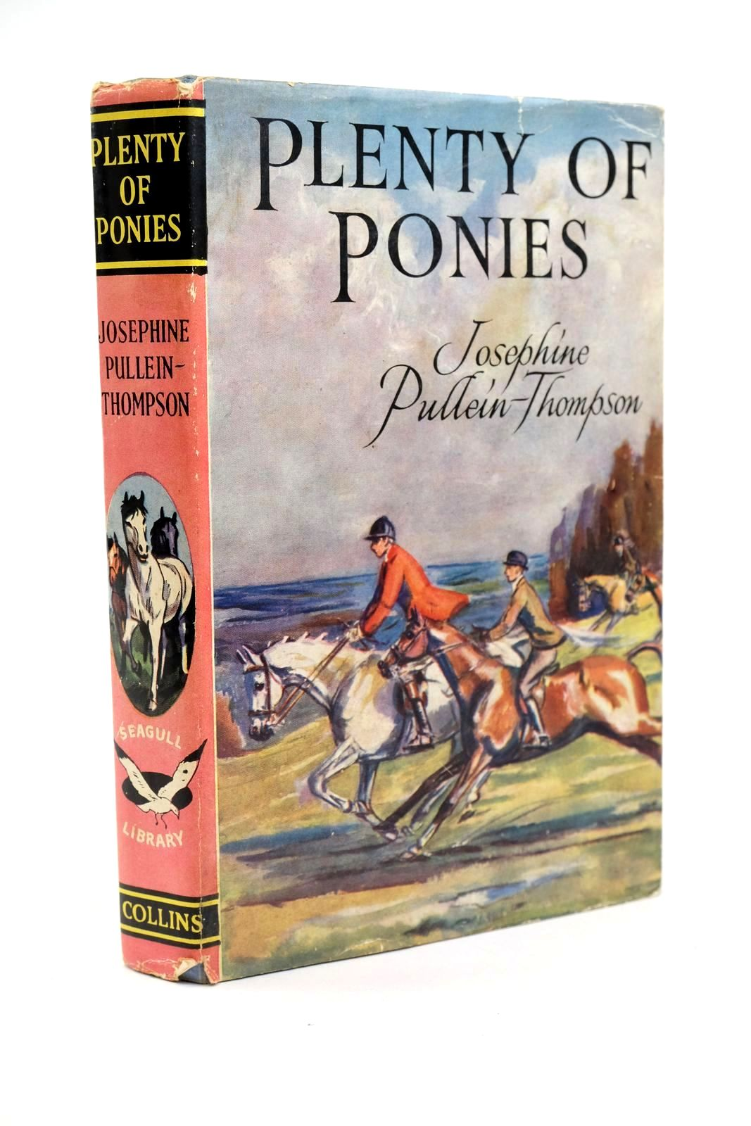 Photo of PLENTY OF PONIES written by Pullein-Thompson, Josephine illustrated by Bullen, Anne published by Collins (STOCK CODE: 1321502)  for sale by Stella & Rose's Books