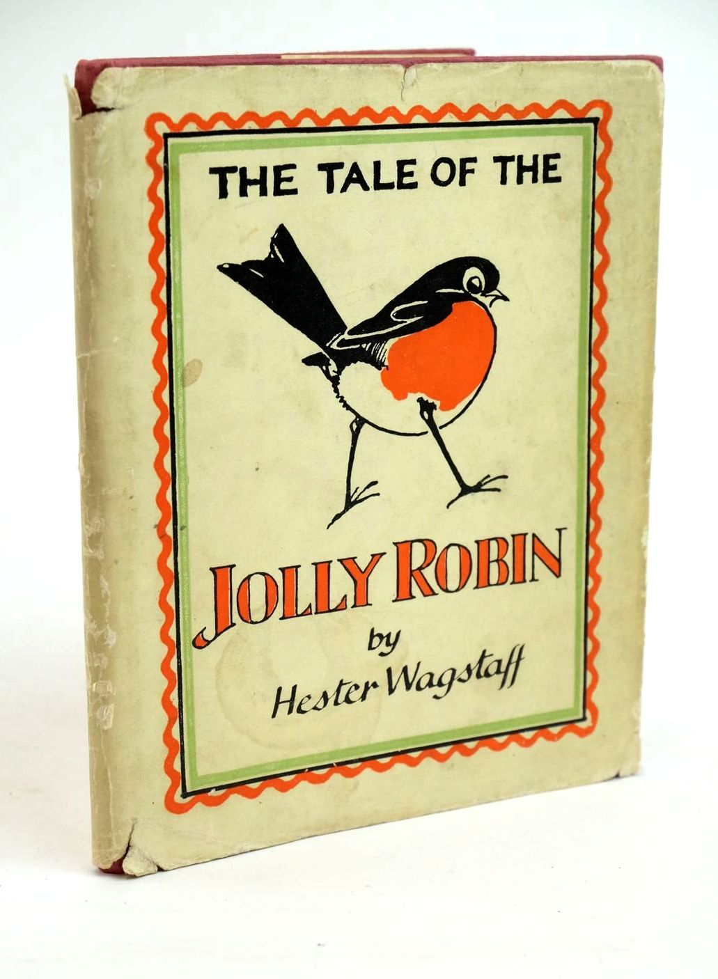 Photo of THE TALE OF THE JOLLY ROBIN written by Wagstaff, Hester illustrated by Wagstaff, Hester published by Faber & Faber Ltd. (STOCK CODE: 1321525)  for sale by Stella & Rose's Books