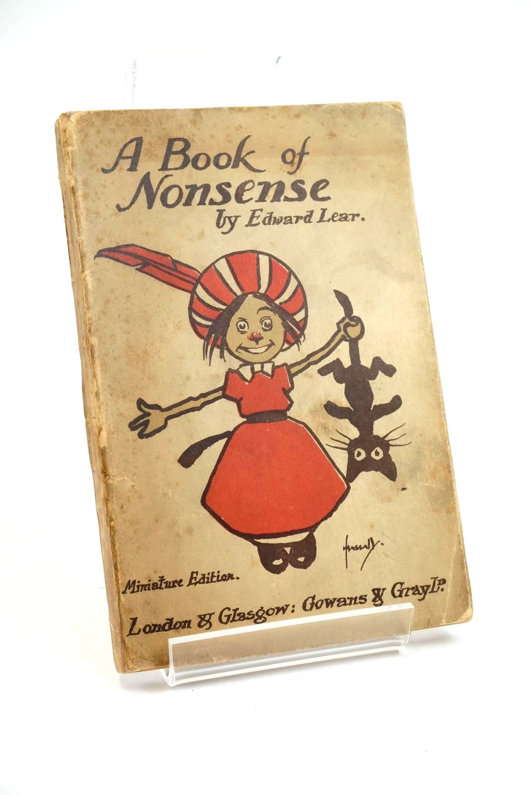 Photo of A BOOK OF NONSENSE- Stock Number: 1321526