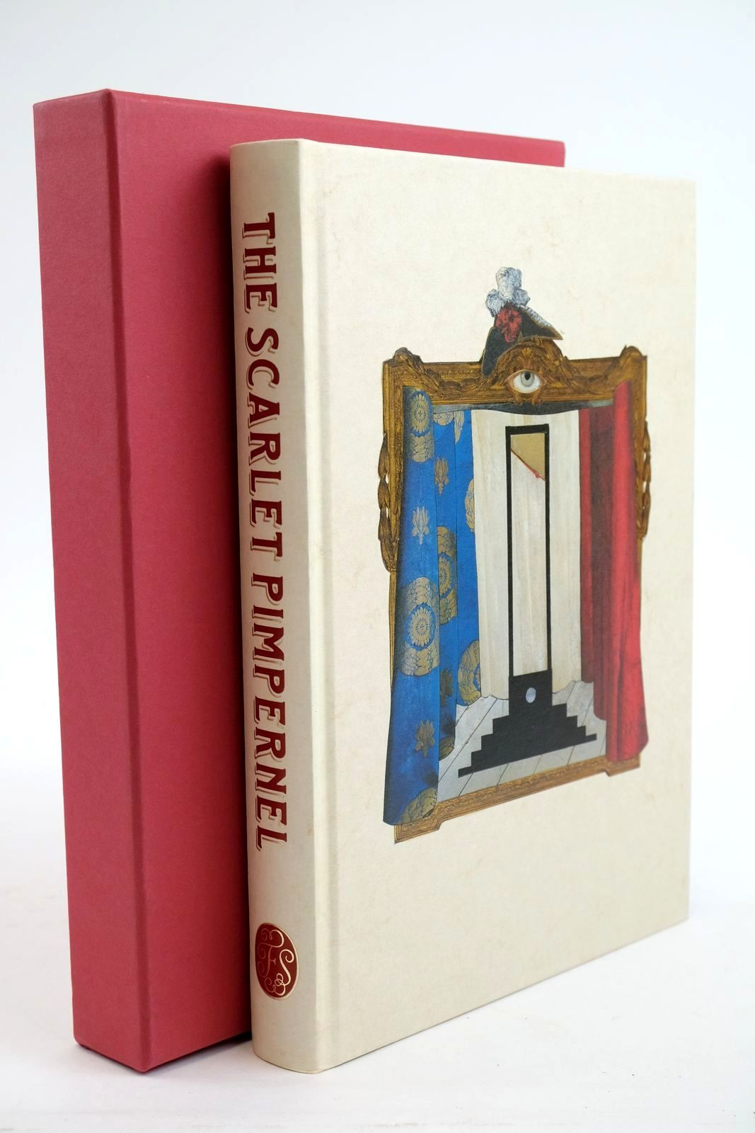Photo of THE SCARLET PIMPERNEL written by Orczy, Baroness Mantel, Hilary illustrated by Weller, Lucy published by Folio Society (STOCK CODE: 1321552)  for sale by Stella & Rose's Books