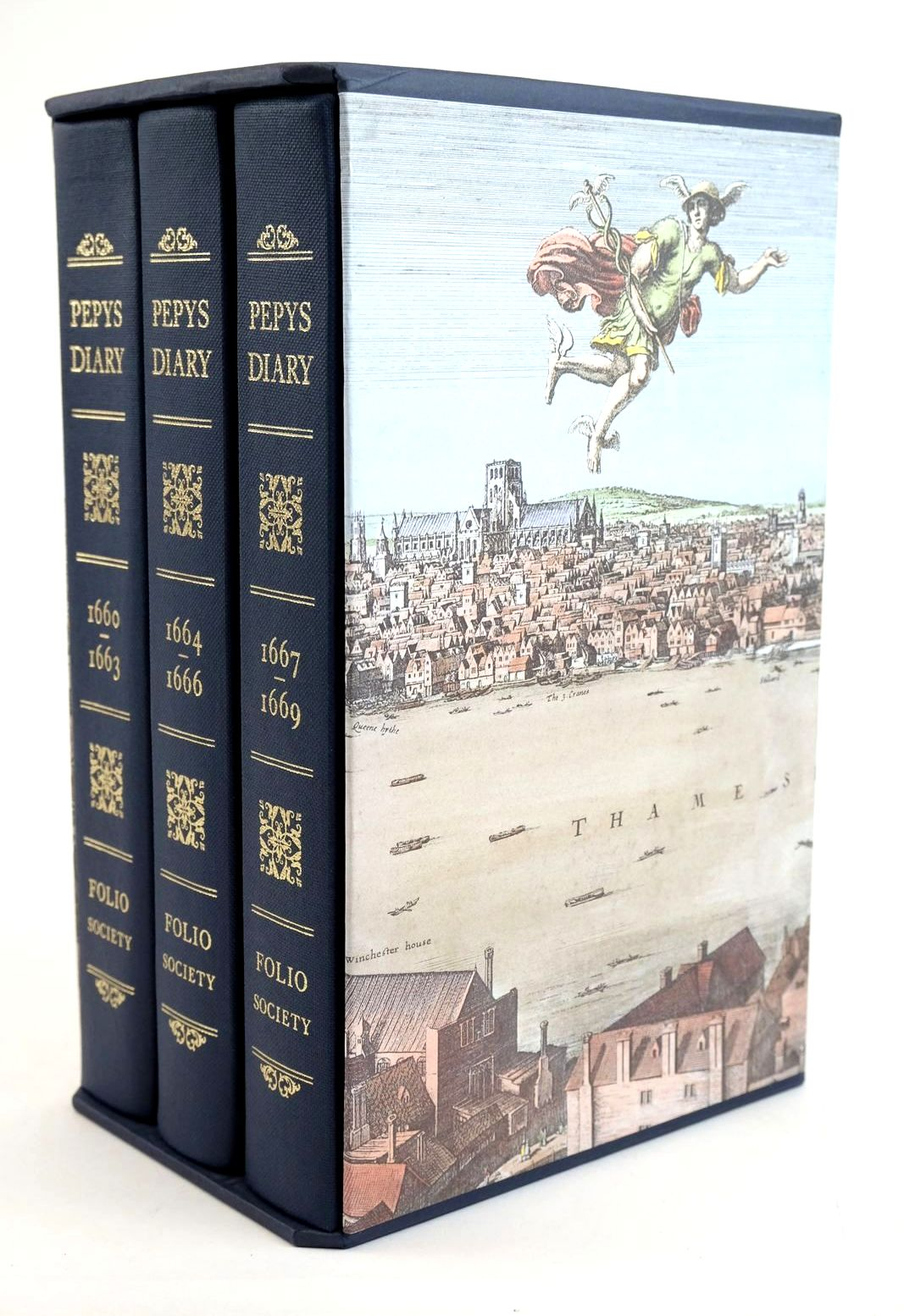Photo of PEPYS'S DIARY (3 VOLUMES) written by Pepys, Samuel Latham, Robert published by Folio Society (STOCK CODE: 1321559)  for sale by Stella & Rose's Books