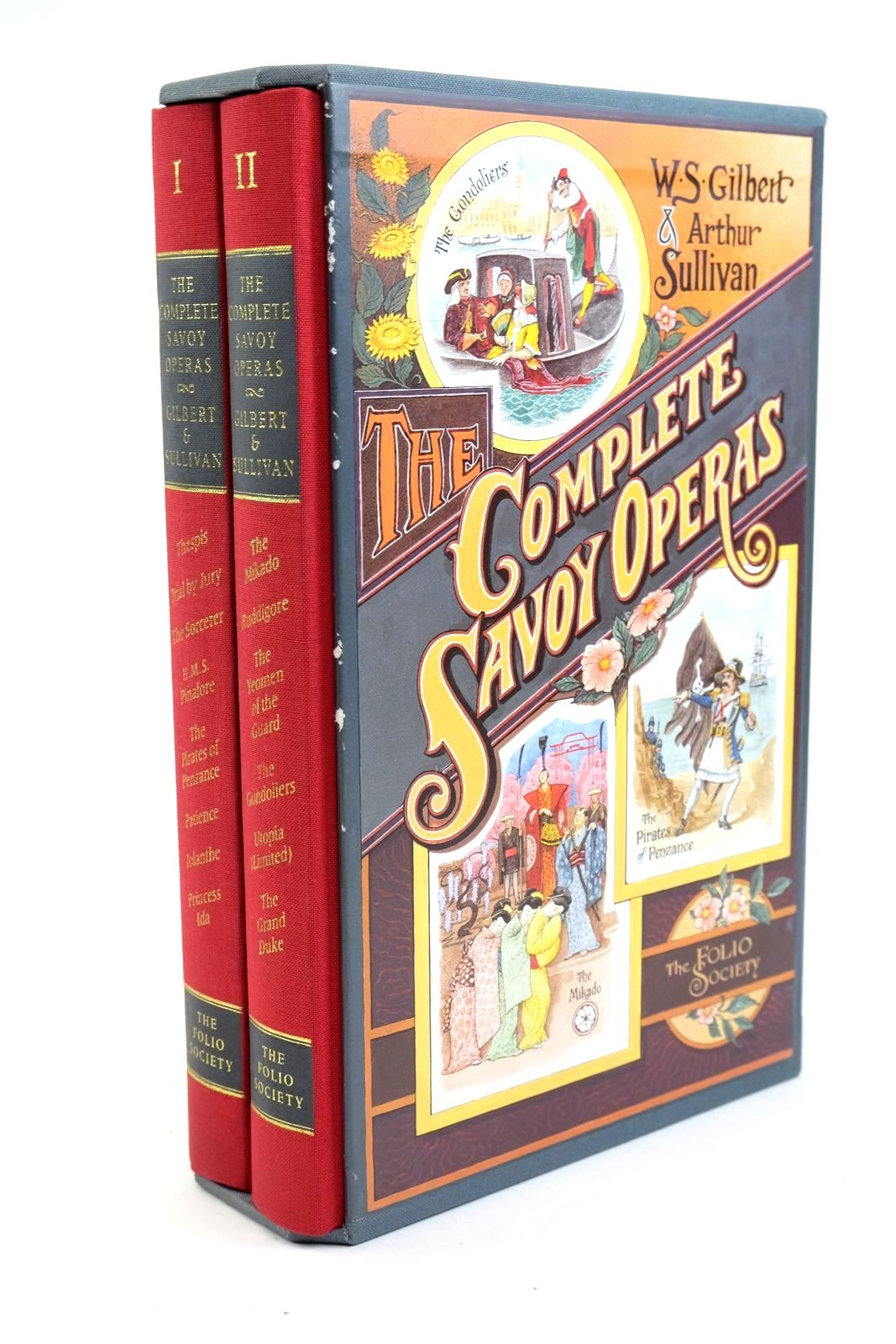 Photo of THE COMPLETE SAVOY OPERAS (TWO VOLUMES) written by Gilbert, W.S. Sullivan, Arthur published by Folio Society (STOCK CODE: 1321568)  for sale by Stella & Rose's Books