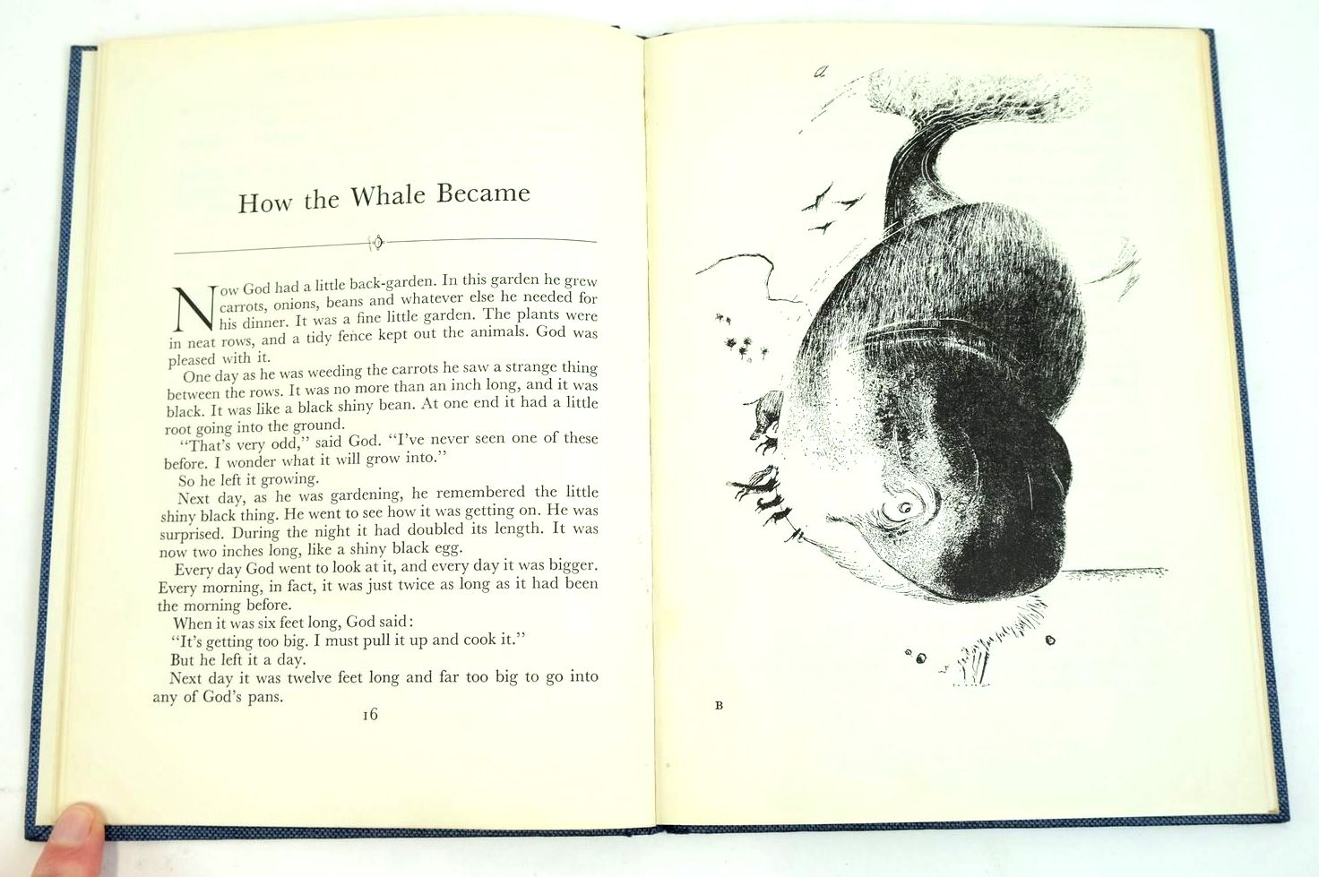 Photo of HOW THE WHALE BECAME written by Hughes, Ted illustrated by Adamson, George published by Faber & Faber Ltd. (STOCK CODE: 1321607)  for sale by Stella & Rose's Books