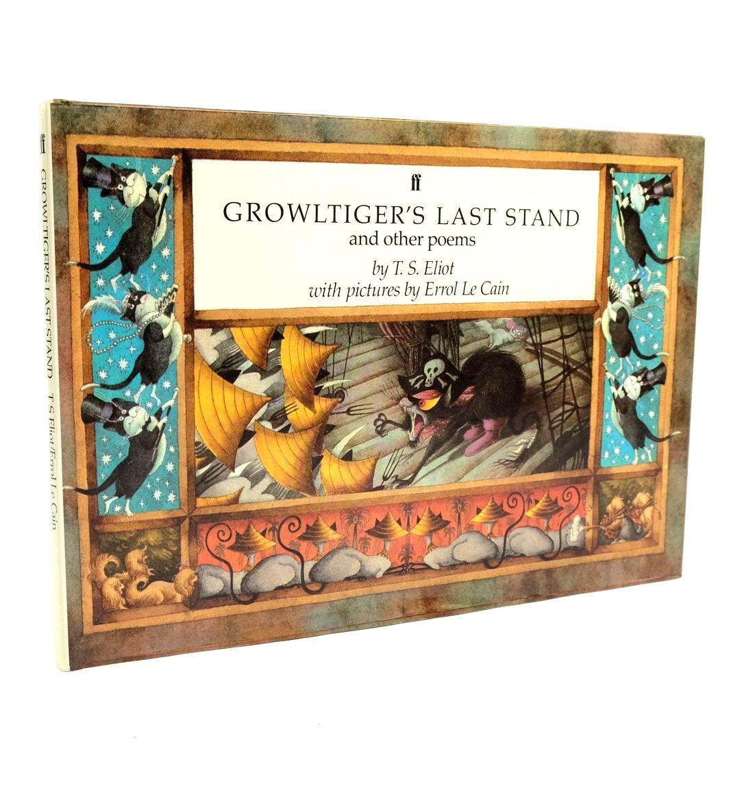 Photo of GROWLTIGER'S LAST STAND AND OTHER POEMS- Stock Number: 1321619