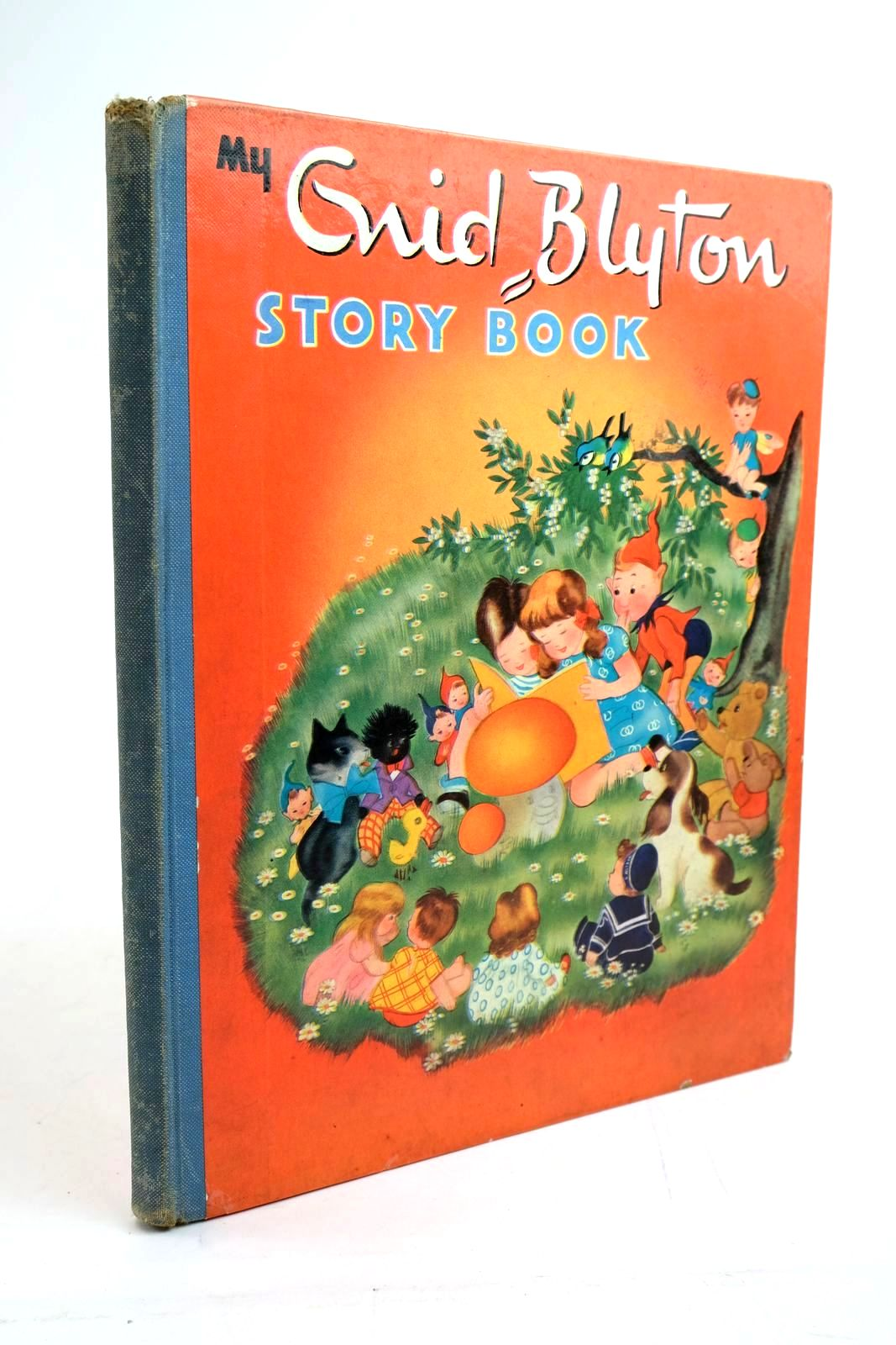 Photo of MY ENID BLYTON STORY BOOK written by Blyton, Enid illustrated by Schermele, Willy published by Juvenile Productions Ltd. (STOCK CODE: 1321632)  for sale by Stella & Rose's Books