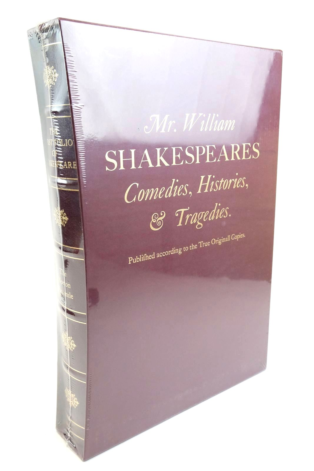 Photo of THE FIRST FOLIO OF SHAKESPEARE written by Shakespeare, William published by W.W. Norton & Company Inc. (STOCK CODE: 1321646)  for sale by Stella & Rose's Books