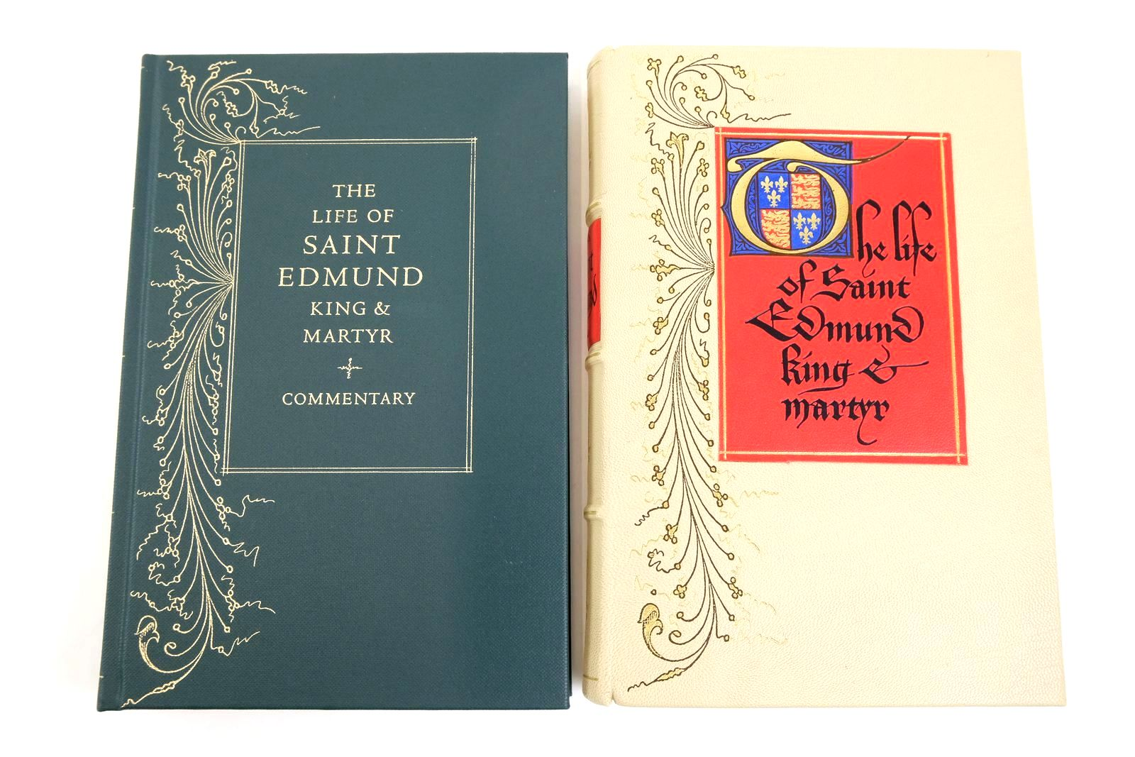 Photo of THE LIFE OF SAINT EDMUND KING & MARTYR written by Lydgate, John Edwards, A.S.G. published by Folio Society (STOCK CODE: 1321648)  for sale by Stella & Rose's Books