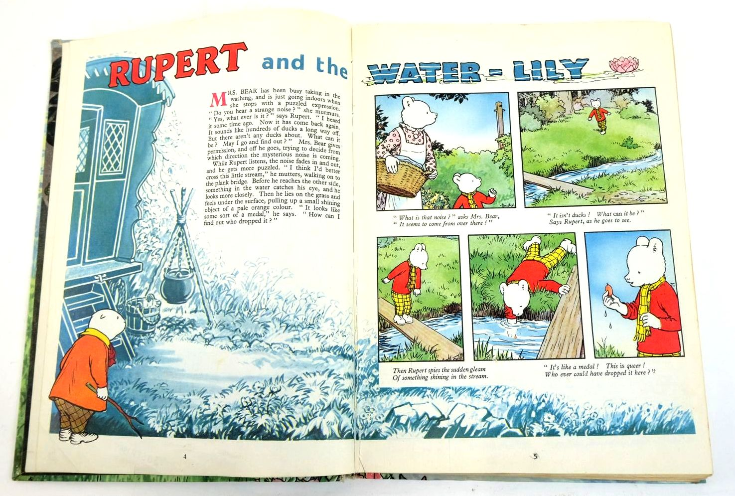 Photo of RUPERT ANNUAL 1958 written by Bestall, Alfred illustrated by Bestall, Alfred published by Daily Express (STOCK CODE: 1321651)  for sale by Stella & Rose's Books