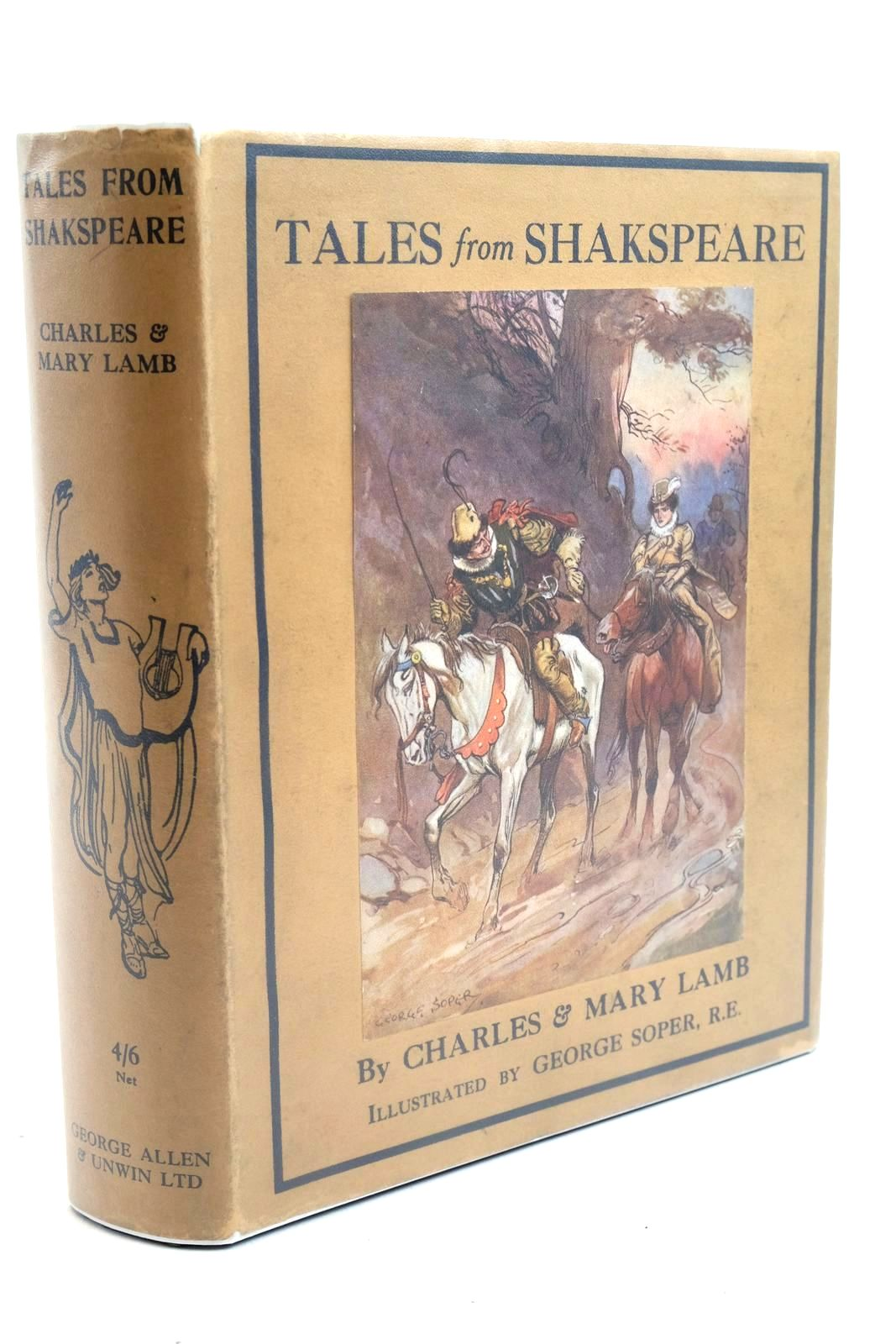 Photo of TALES FROM SHAKESPEARE written by Lamb, Charles Lamb, Mary Shakespeare, William illustrated by Soper, George published by George Allen & Unwin Ltd. (STOCK CODE: 1321654)  for sale by Stella & Rose's Books