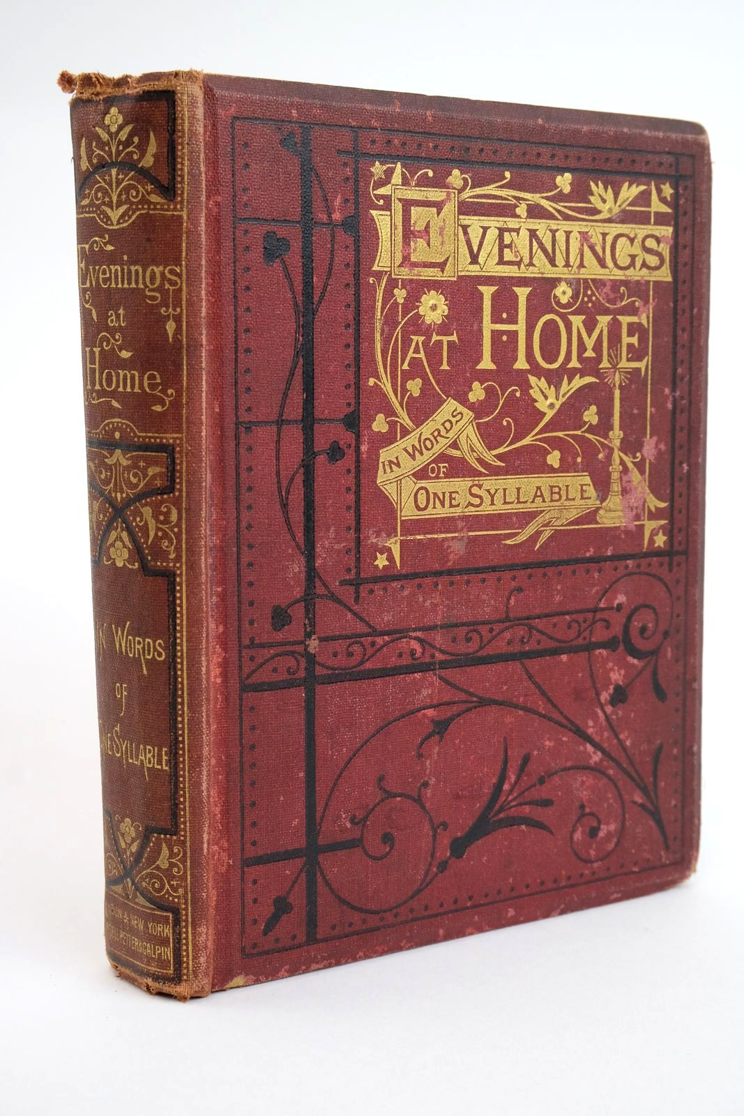 Photo of EVENINGS AT HOME IN WORDS OF ONE SYLLABLE- Stock Number: 1321664