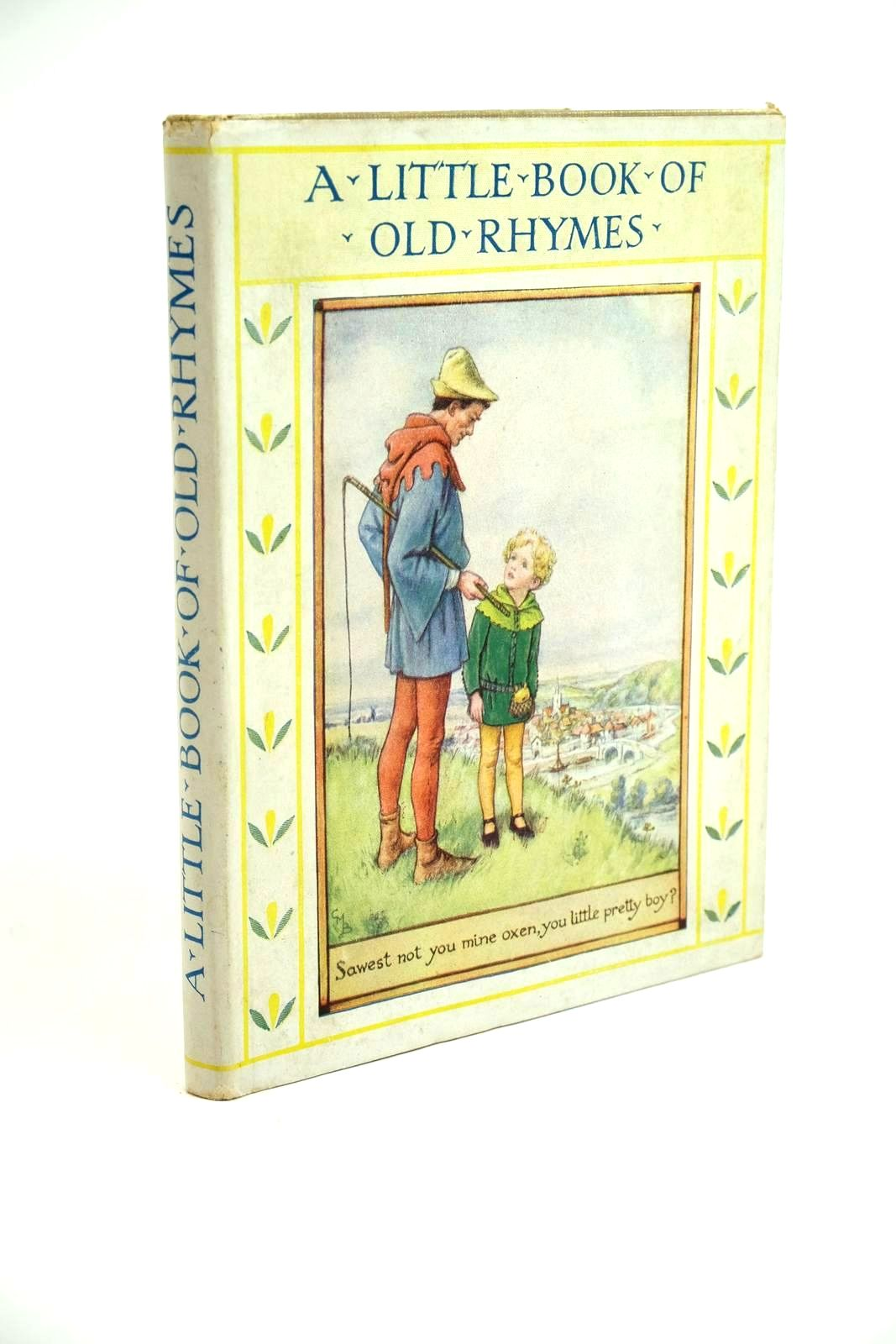 Photo of A LITTLE BOOK OF OLD RHYMES written by Barker, Cicely Mary illustrated by Barker, Cicely Mary published by Blackie & Son Ltd. (STOCK CODE: 1321682)  for sale by Stella & Rose's Books