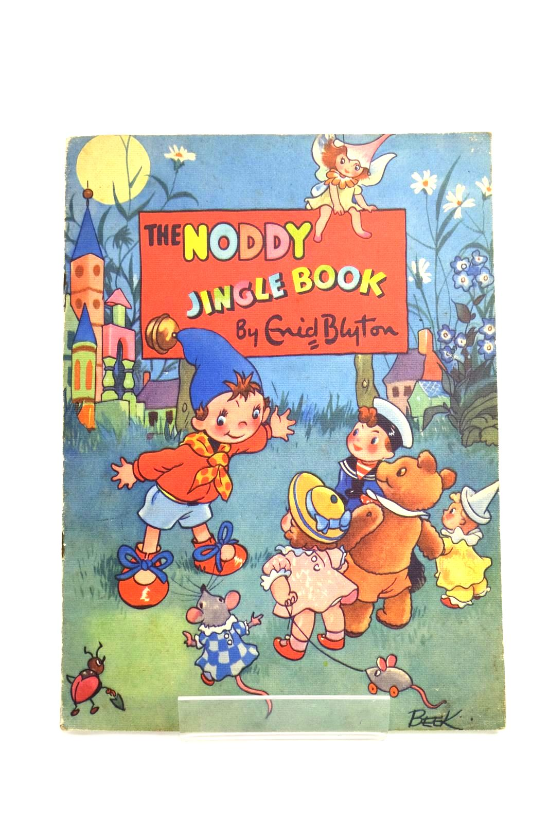 Photo of THE NODDY JINGLE BOOK written by Blyton, Enid illustrated by Beek, published by Sampson Low, Marston & Co., D.V. Publications Ltd. (STOCK CODE: 1321693)  for sale by Stella & Rose's Books