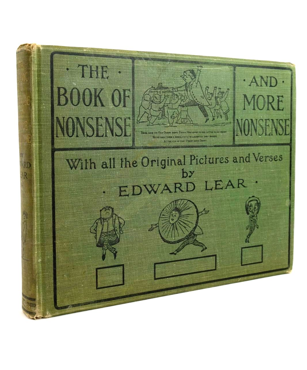 Photo of THE BOOK OF NONSENSE AND MORE NONSENSE written by Lear, Edward illustrated by Lear, Edward published by Frederick Warne & Co Ltd. (STOCK CODE: 1321694)  for sale by Stella & Rose's Books
