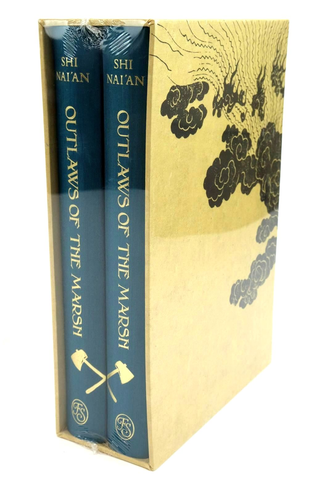 Photo of OUTLAWS OF THE MARSH - THE WATER MARGIN (2 VOLUMES) written by Nai'An, Shi published by Folio Society (STOCK CODE: 1321712)  for sale by Stella & Rose's Books