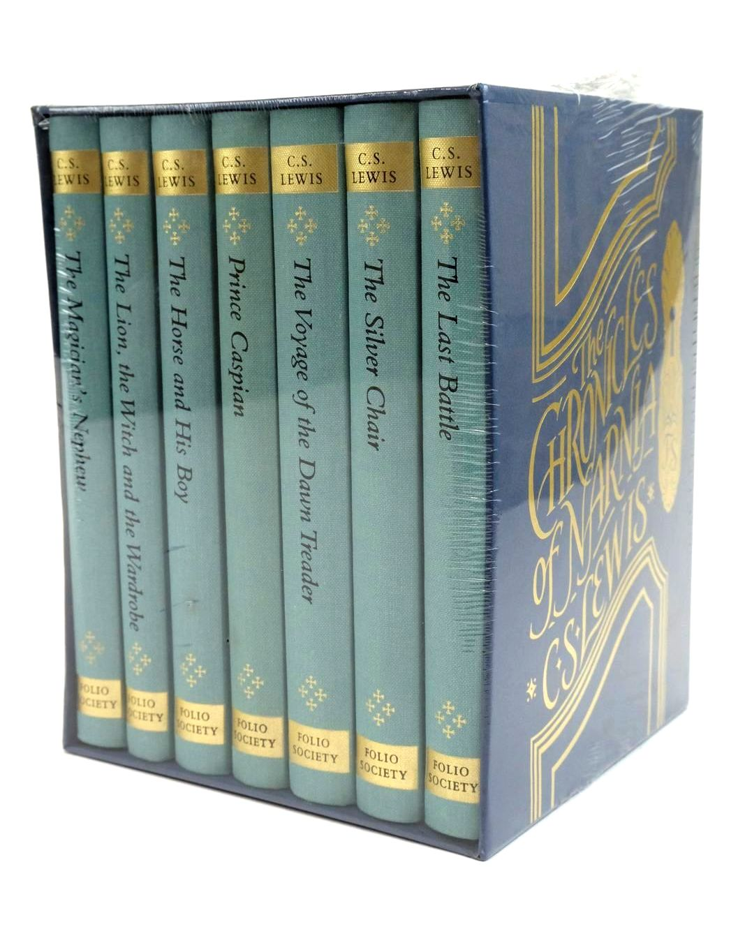 Photo of THE CHRONICLES OF NARNIA (7 VOLUMES)- Stock Number: 1321715