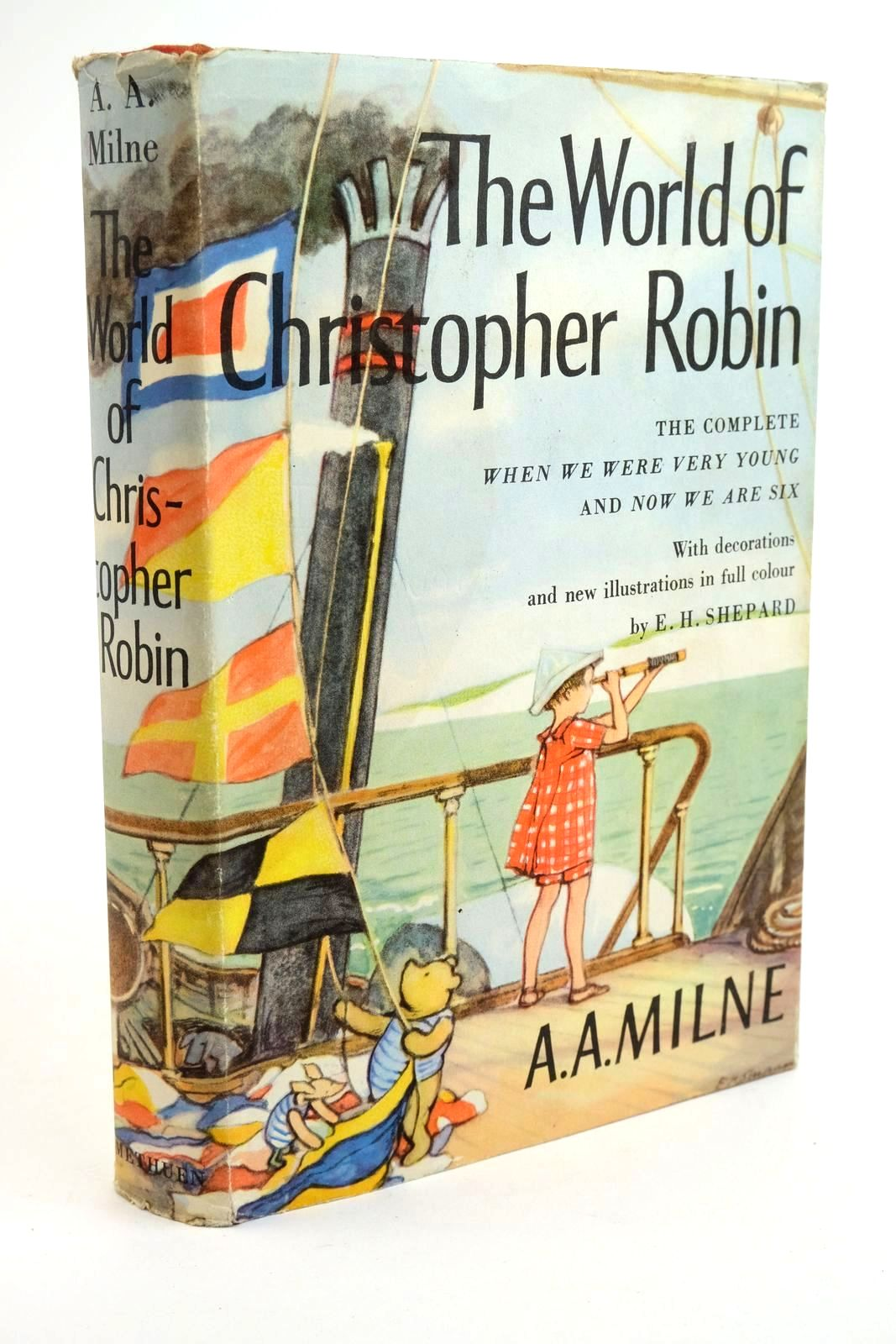 Photo of THE WORLD OF CHRISTOPHER ROBIN written by Milne, A.A. illustrated by Shepard, E.H. published by Methuen & Co. Ltd. (STOCK CODE: 1321779)  for sale by Stella & Rose's Books