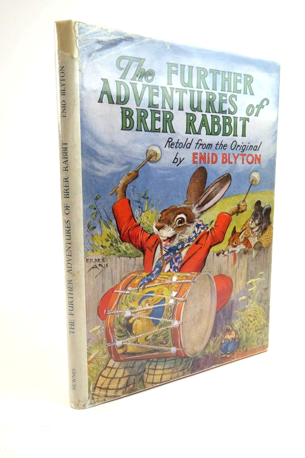 Photo of THE FURTHER ADVENTURES OF BRER RABBIT written by Blyton, Enid illustrated by Aris, Ernest A. published by George Newnes Limited (STOCK CODE: 1321794)  for sale by Stella & Rose's Books