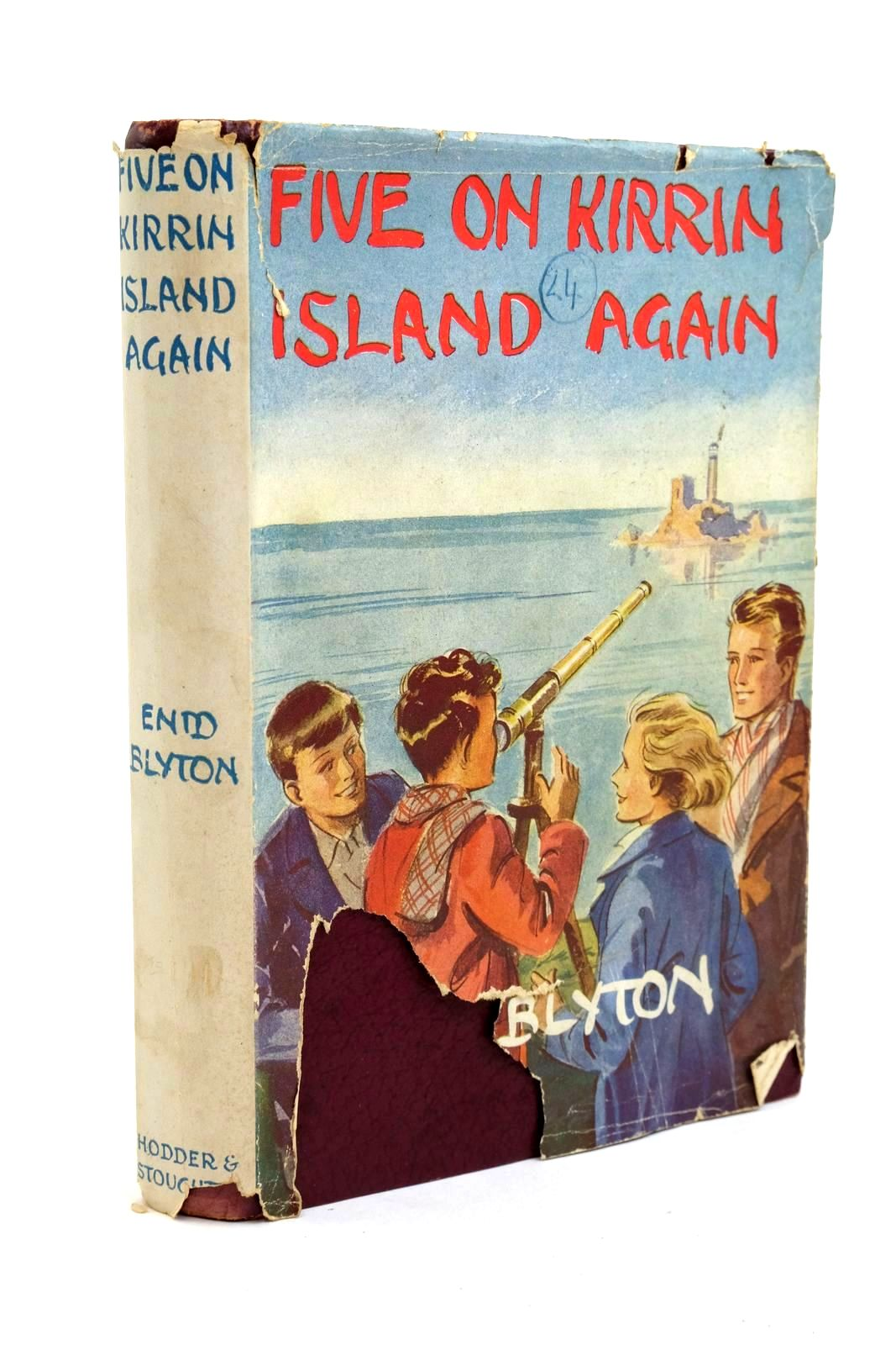 Photo of FIVE ON KIRRIN ISLAND AGAIN written by Blyton, Enid published by Hodder & Stoughton (STOCK CODE: 1321810)  for sale by Stella & Rose's Books
