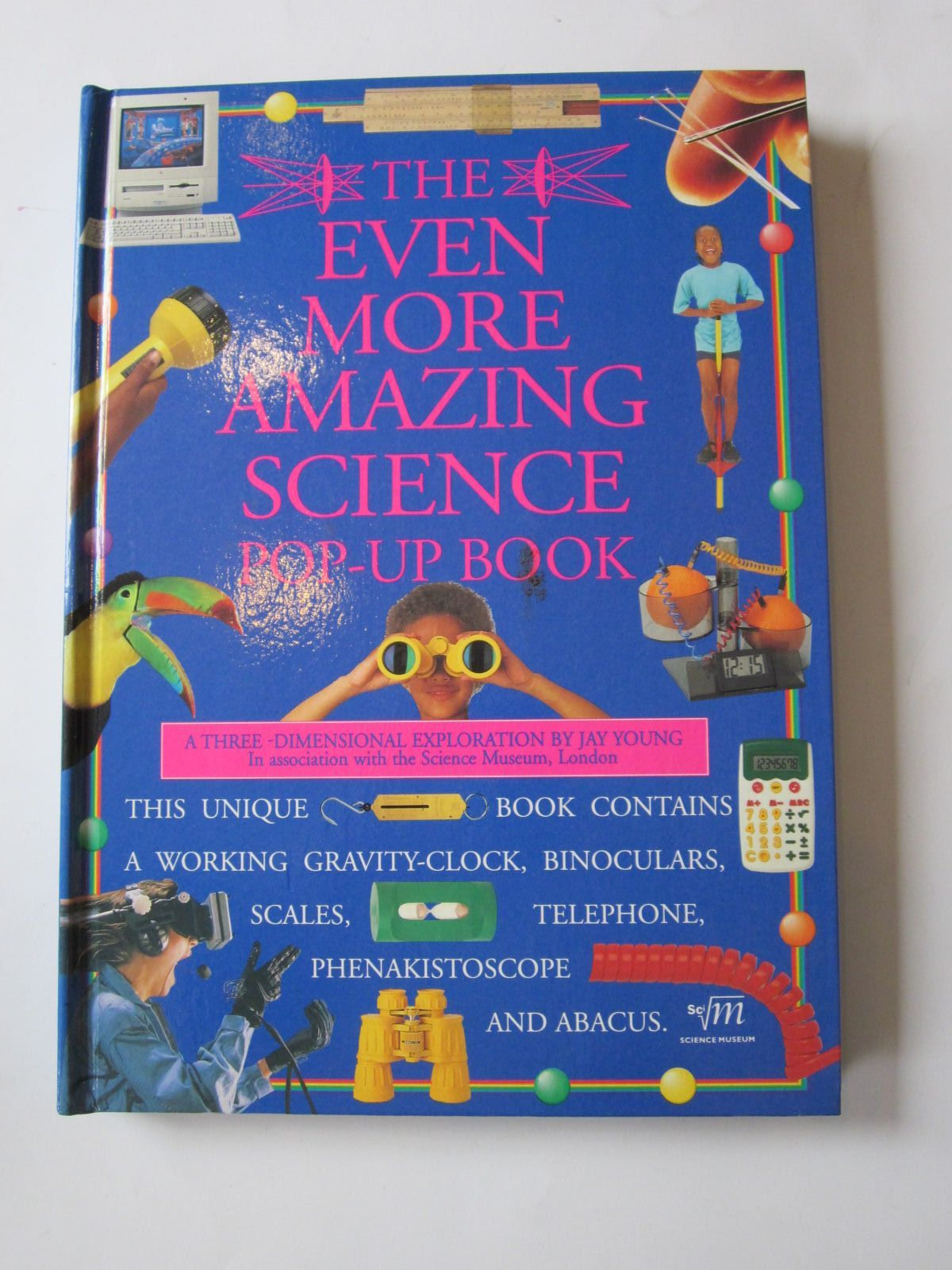 Photo of THE EVEN MORE AMAZING SCIENCE POP-UP BOOK- Stock Number: 1401104