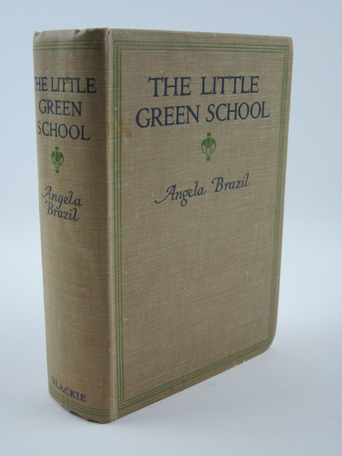 Photo of THE LITTLE GREEN SCHOOL written by Brazil, Angela illustrated by Wiles, Frank published by Blackie & Son Ltd. (STOCK CODE: 1401376)  for sale by Stella & Rose's Books
