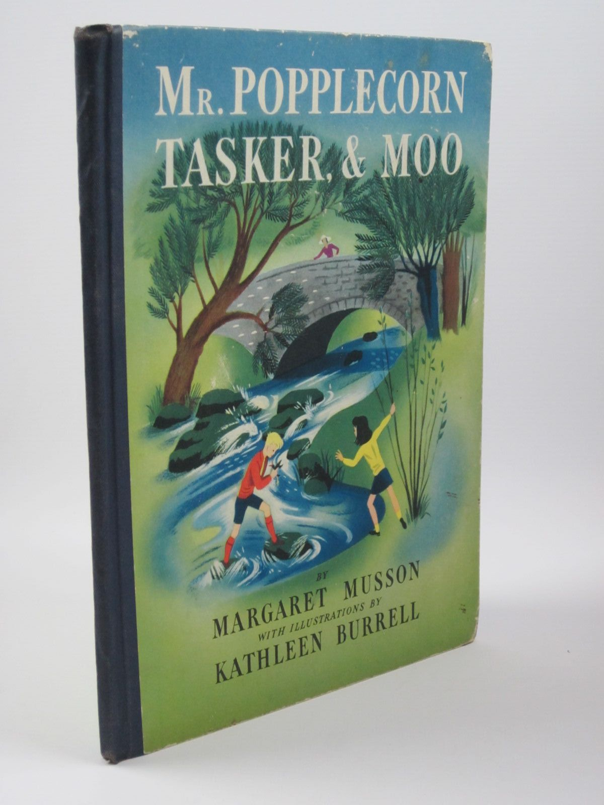 Photo of MR. POPPLECORN TASKER AND MOO written by Musson, Margaret illustrated by Burrell, Kathleen published by George G. Harrap & Co. Ltd. (STOCK CODE: 1401544)  for sale by Stella & Rose's Books