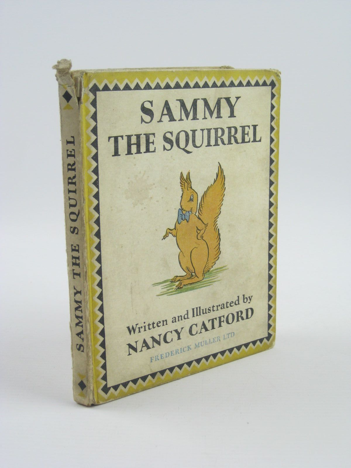 Photo of SAMMY THE SQUIRREL written by Catford, Nancy illustrated by Catford, Nancy published by Frederick Muller Ltd. (STOCK CODE: 1401610)  for sale by Stella & Rose's Books