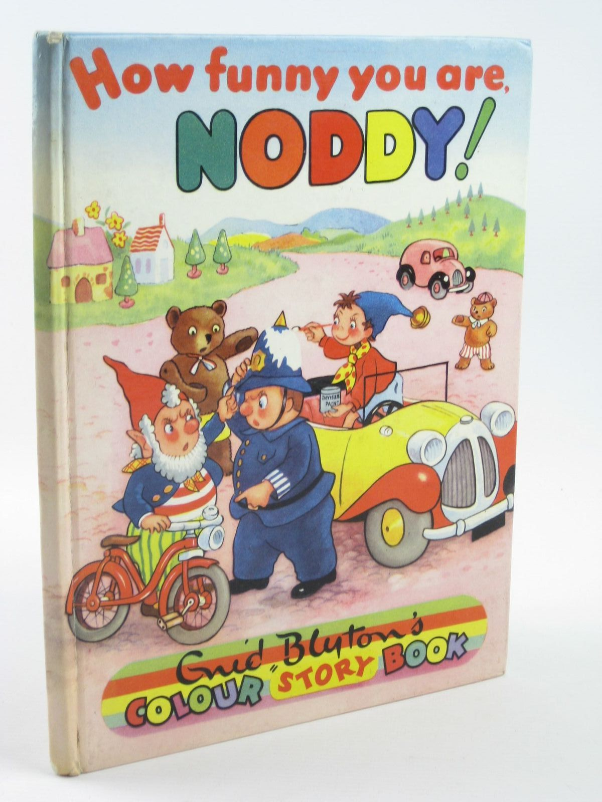 Photo of HOW FUNNY YOU ARE NODDY! written by Blyton, Enid published by Sampson Low, Marston & Co. Ltd., C.A. Publications Ltd. (STOCK CODE: 1401880)  for sale by Stella & Rose's Books