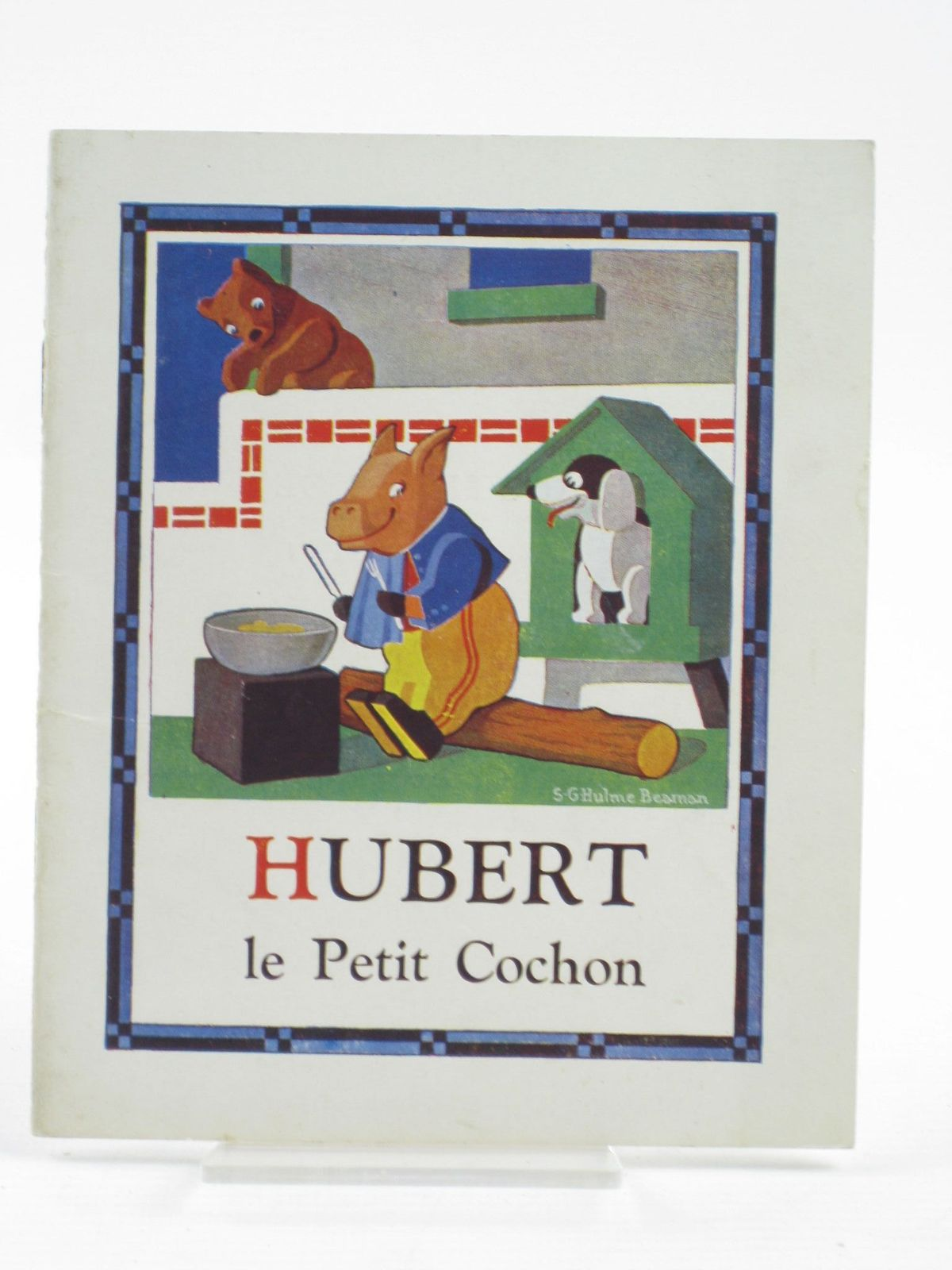 Photo of HUBERT LE PETIT COCHON written by Beaman, S.G. Hulme illustrated by Beaman, S.G. Hulme published by Frederick Warne & Co Ltd. (STOCK CODE: 1402087)  for sale by Stella & Rose's Books