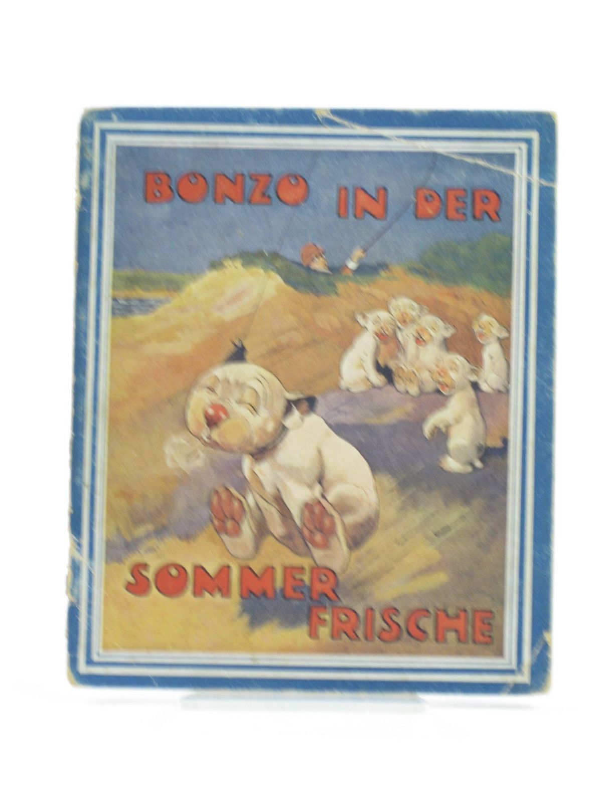 Photo of BONZO IN DER SOMMERFRISCHE written by Studdy, G.E. Jellicoe, George illustrated by Studdy, G.E. published by Artur Wolf (STOCK CODE: 1402136)  for sale by Stella & Rose's Books
